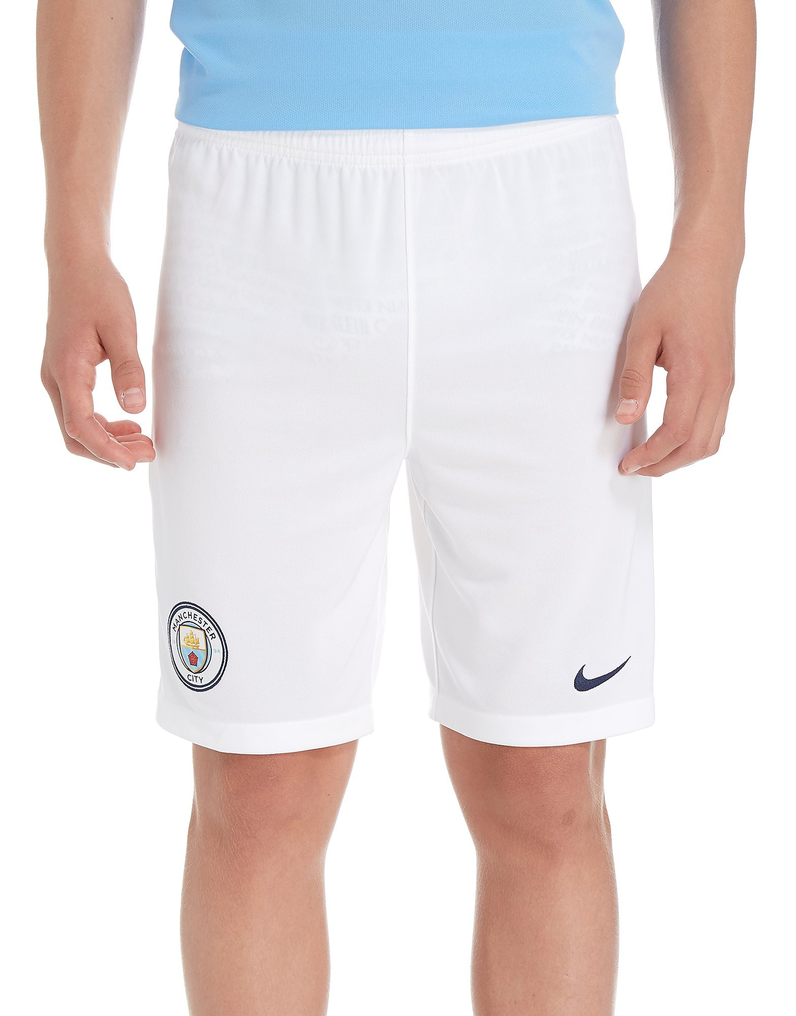 Nike Manchester City 2017/18 Home Shorts Jnr PRE ORDER