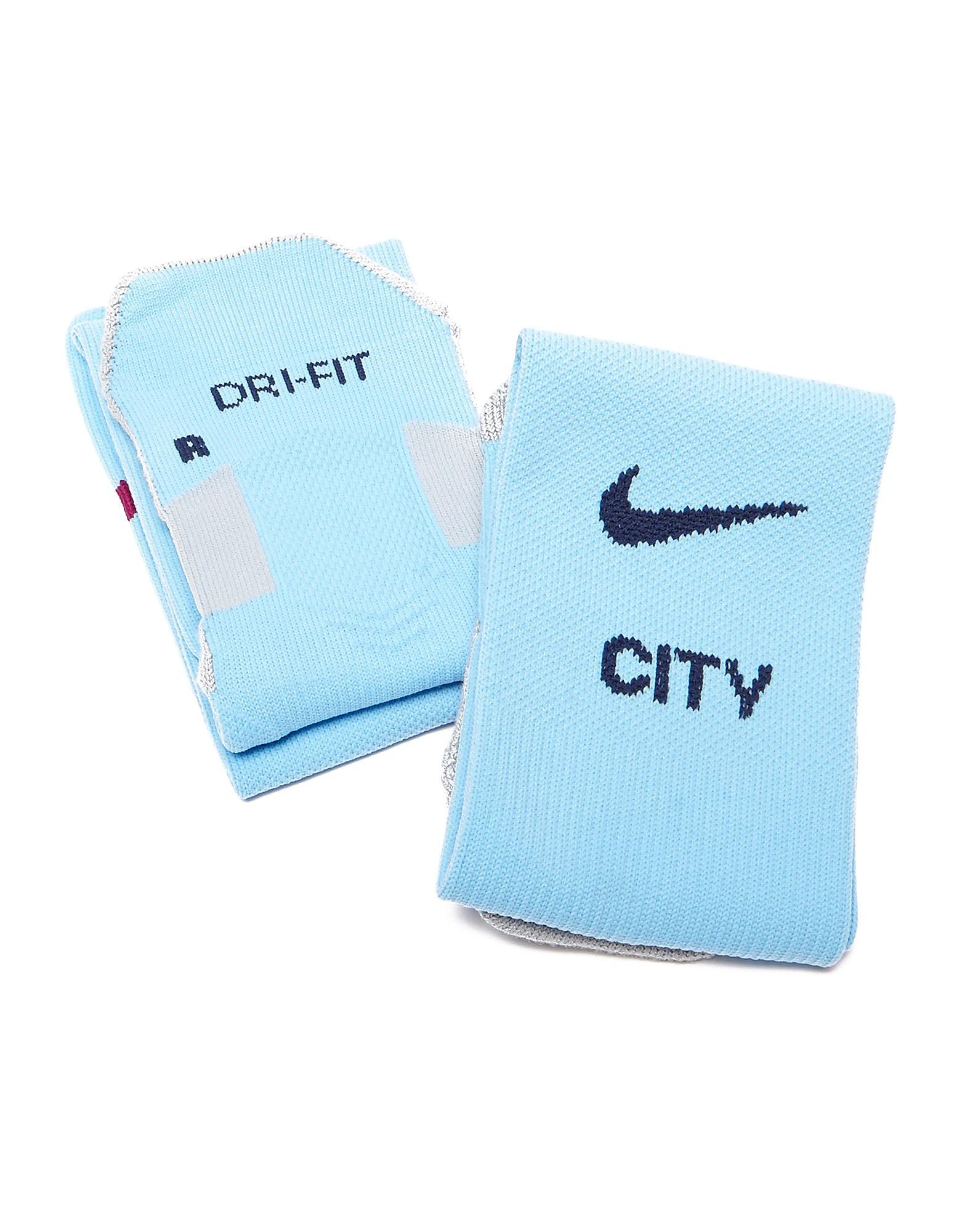 Nike Manchester City 2017/18 Home Socks Jnr PRE ORDER