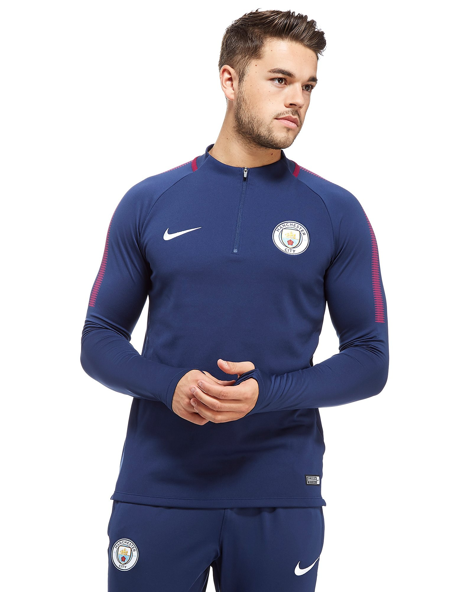 Nike Manchester City 2017/18 Squad Drill Top