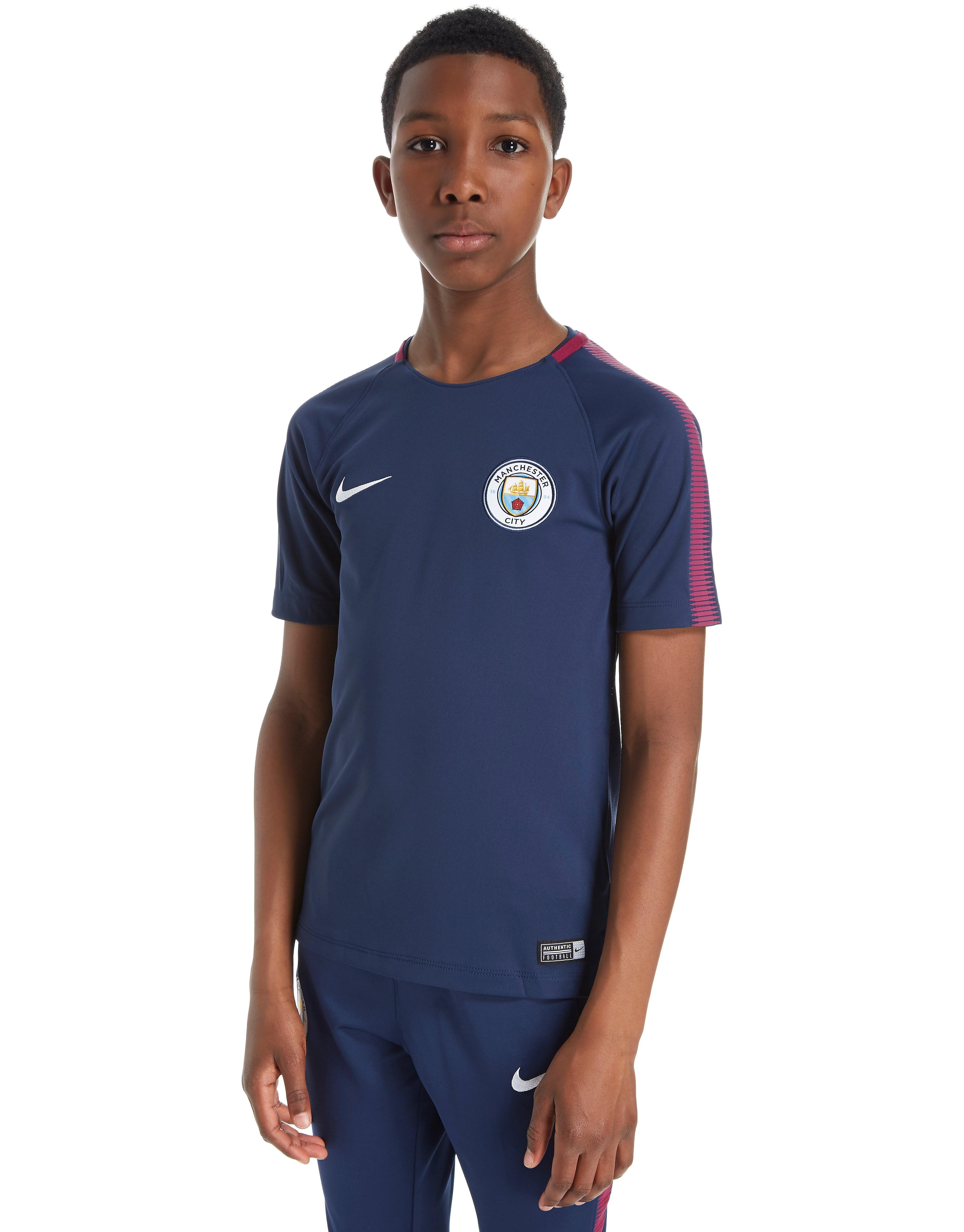 Nike Manchester City 2017/18 Squad Training Shirt Jnr