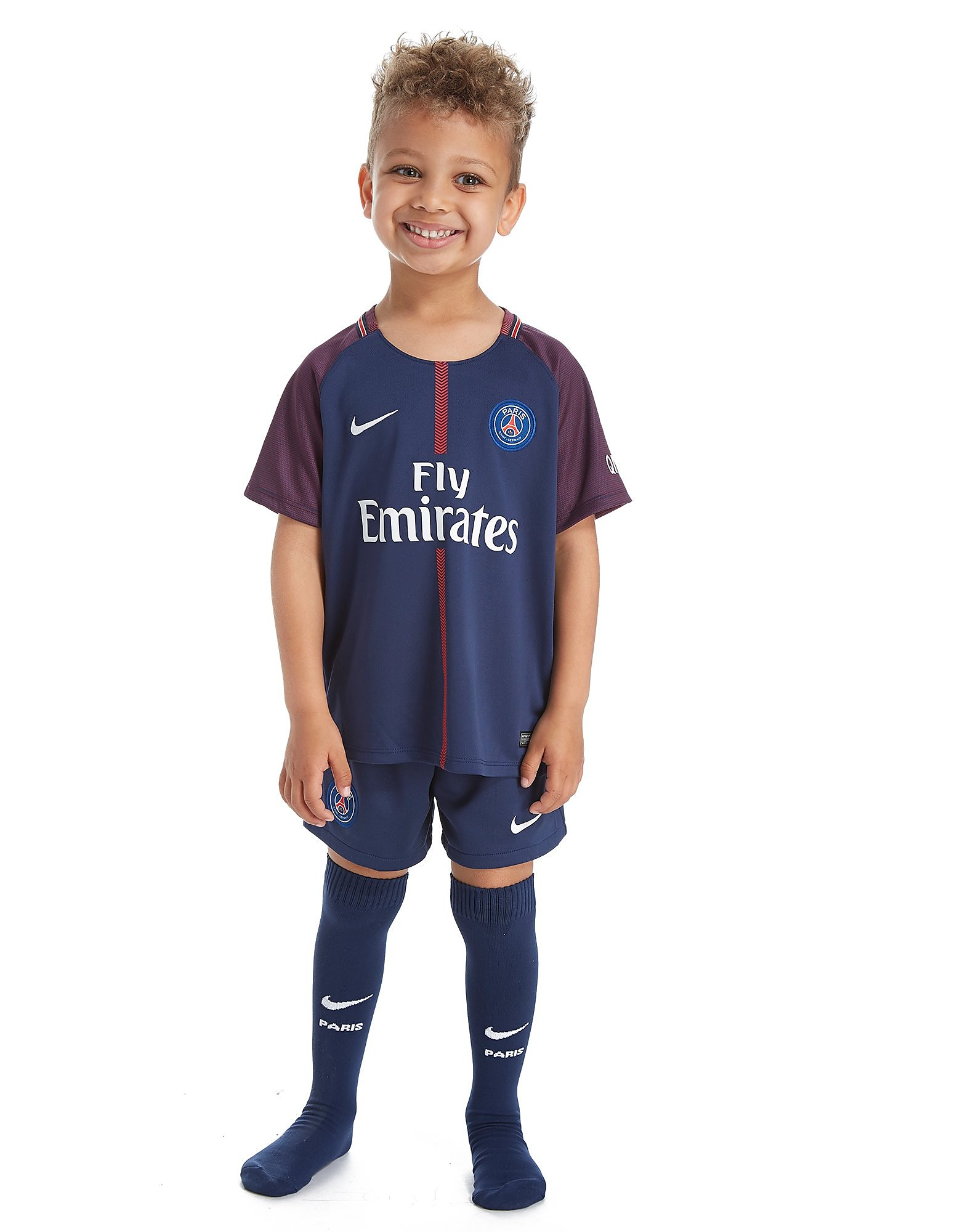 Nike Paris Saint Germain 2017/18 Home Kit Children