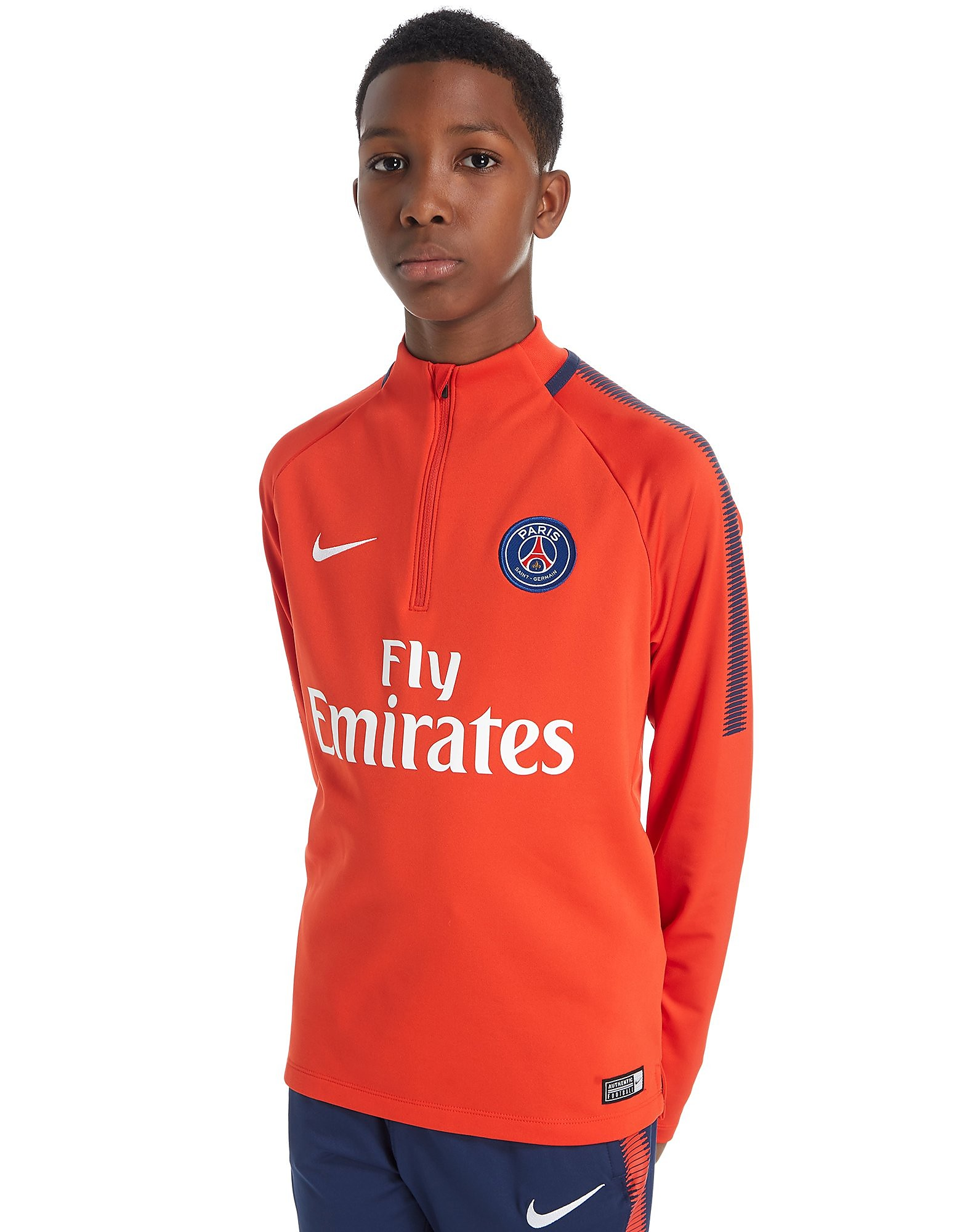 Nike Paris Saint Germain 2017/18 Squad Drill Top Junior