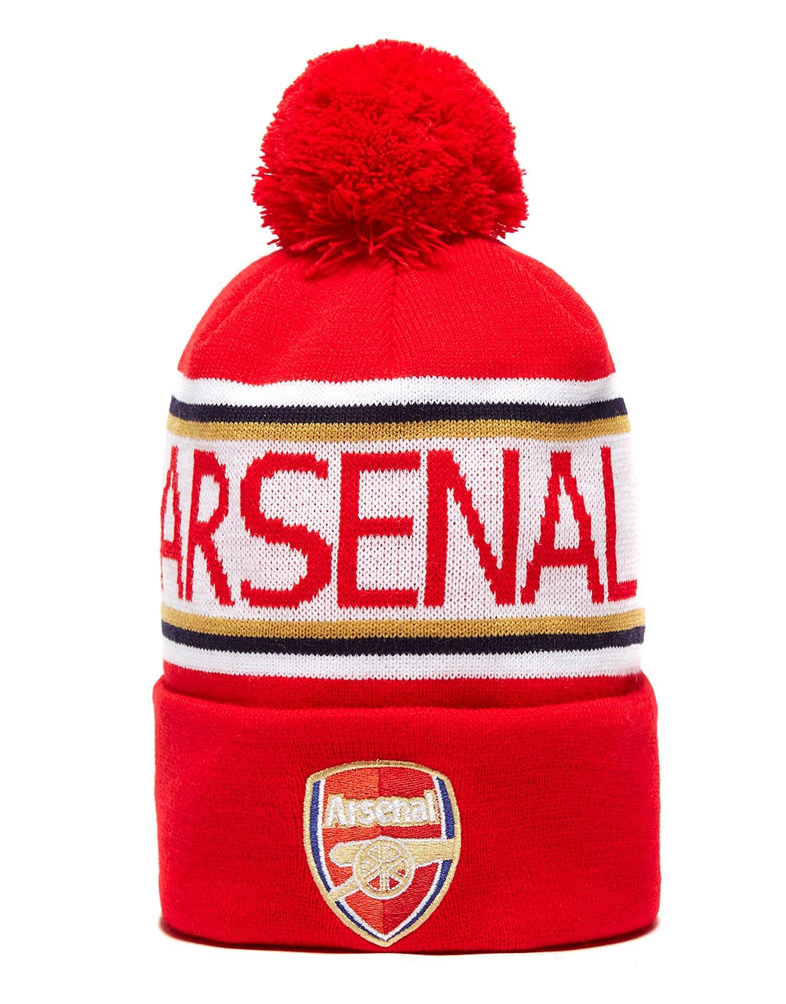 PUMA Arsenal Beanie-Mütze mit Bommel