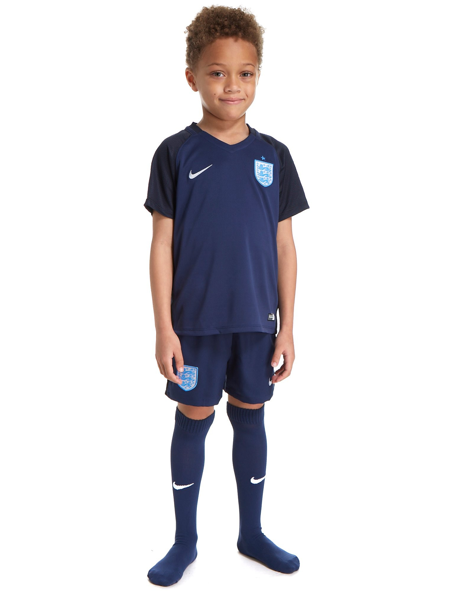 Nike England 2017 Away Kit Children