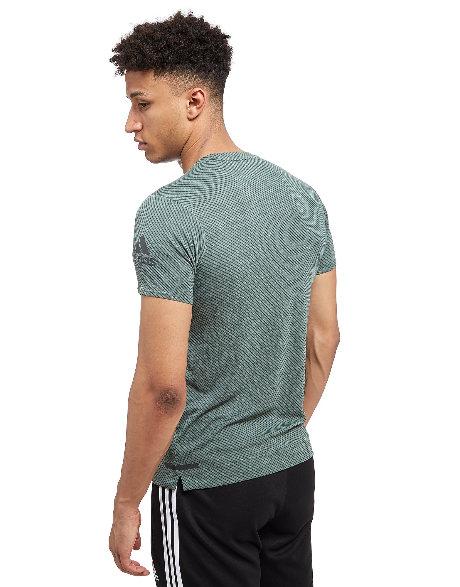 adidas Climachill Speed Stripes Freelift T-Shirt
