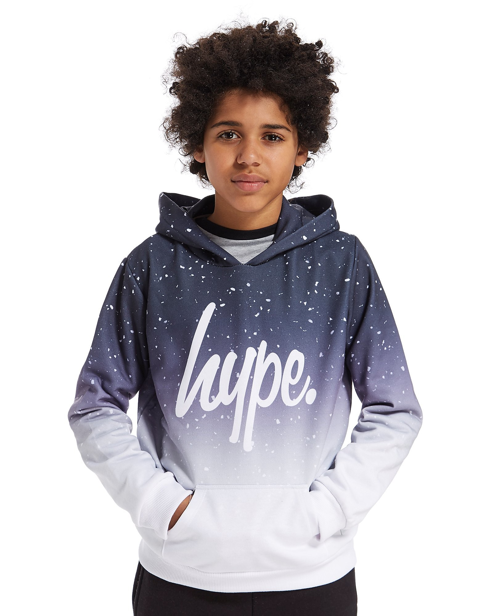 Hype Speckle Fade Hoody Junior
