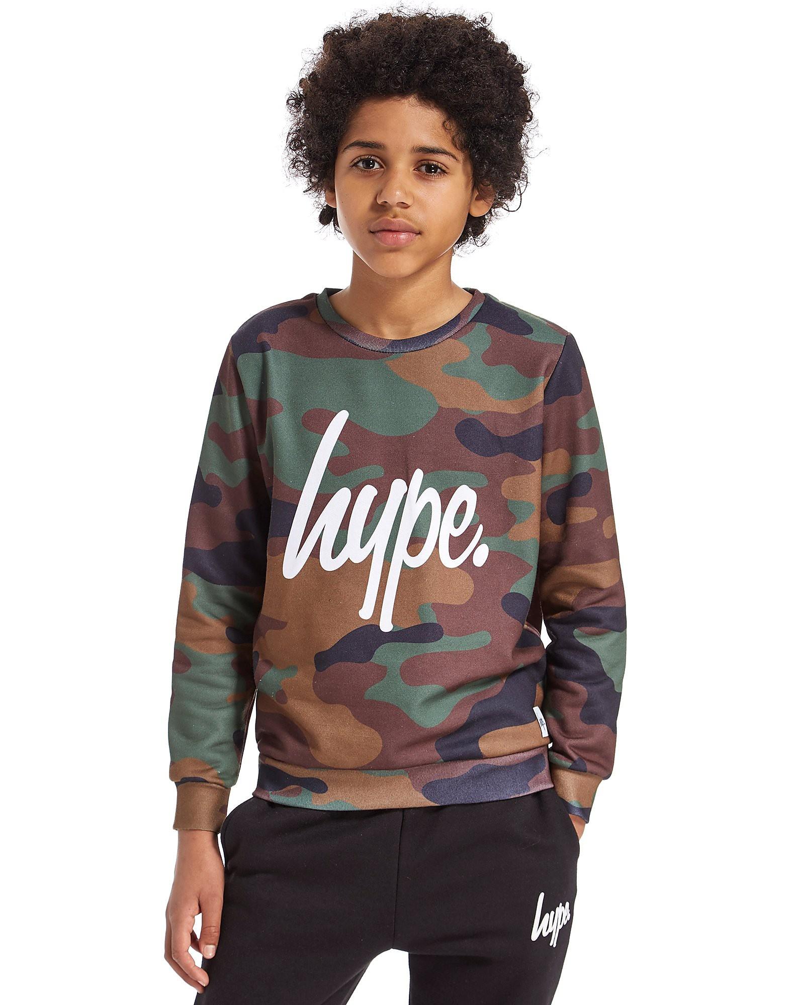 Hype Camo Crew Sweatshirt