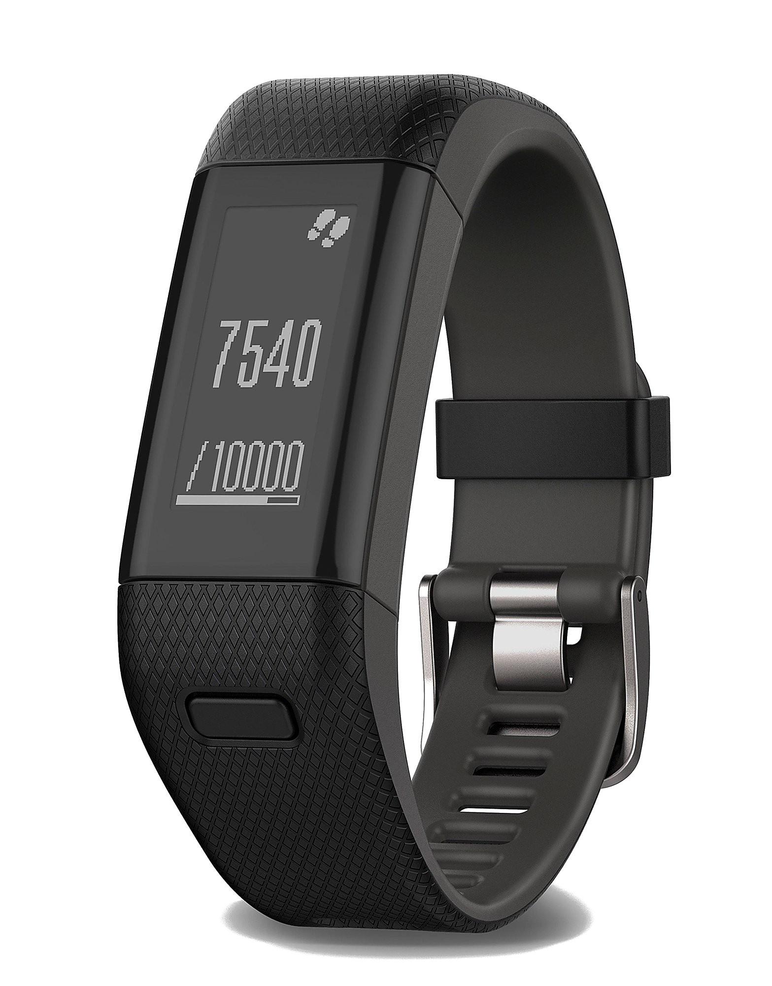 Garmin vivosmart HR+ GPS Activity Tracker (L Wristband)