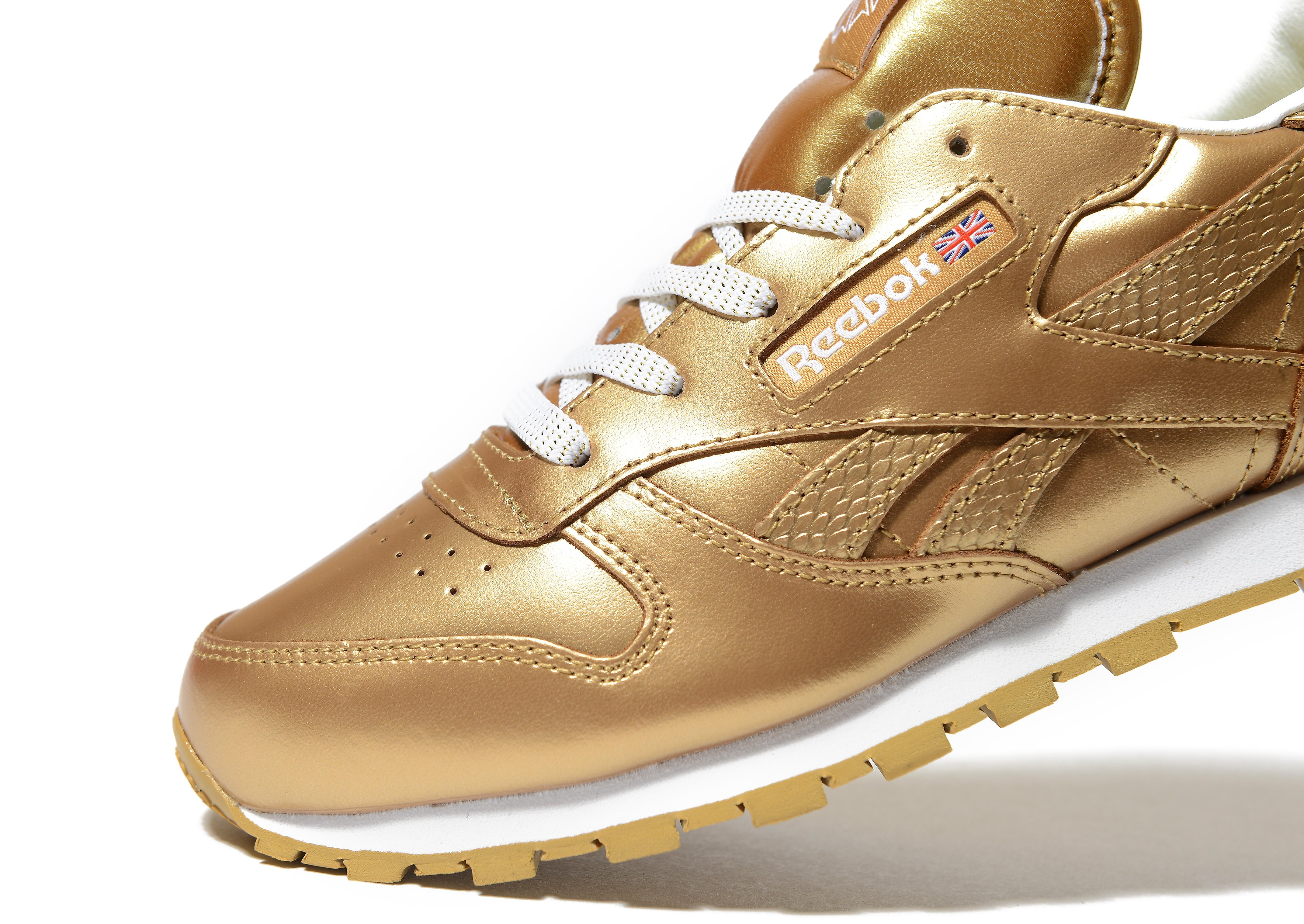 Reebok Classic Leather Metallic Children