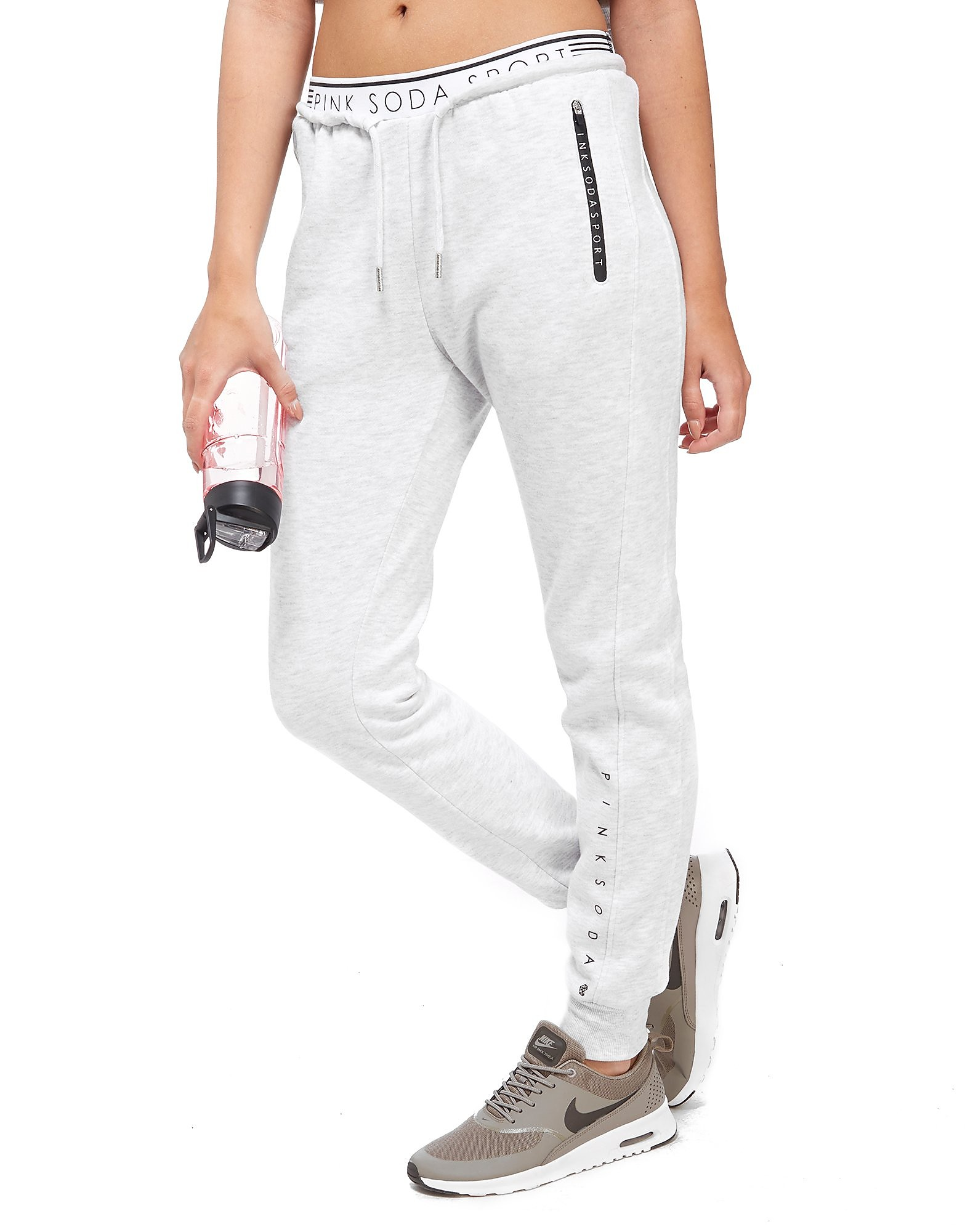 Pink Soda Sport Logo Waist Track Pants
