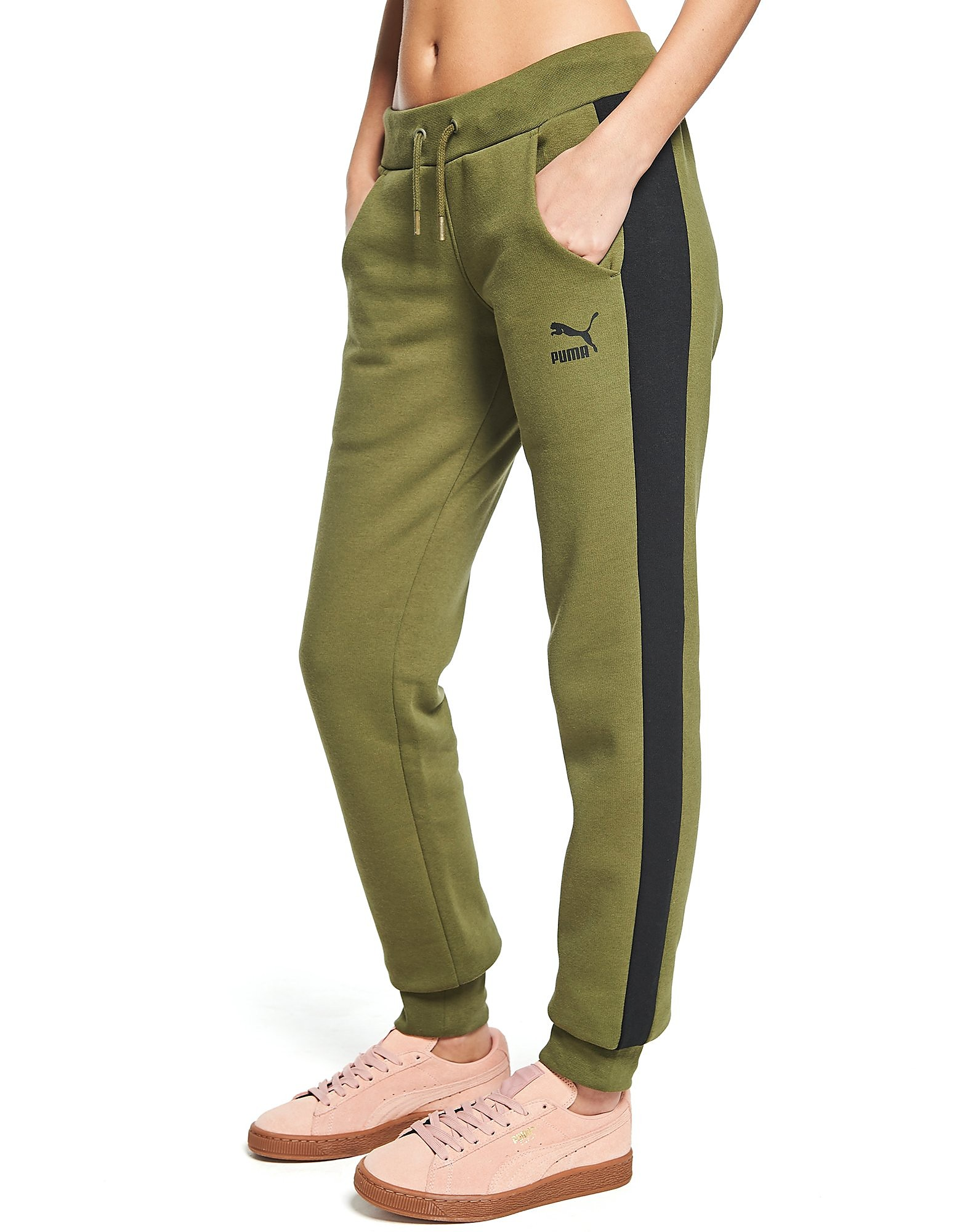 PUMA Panel Fleece Pants