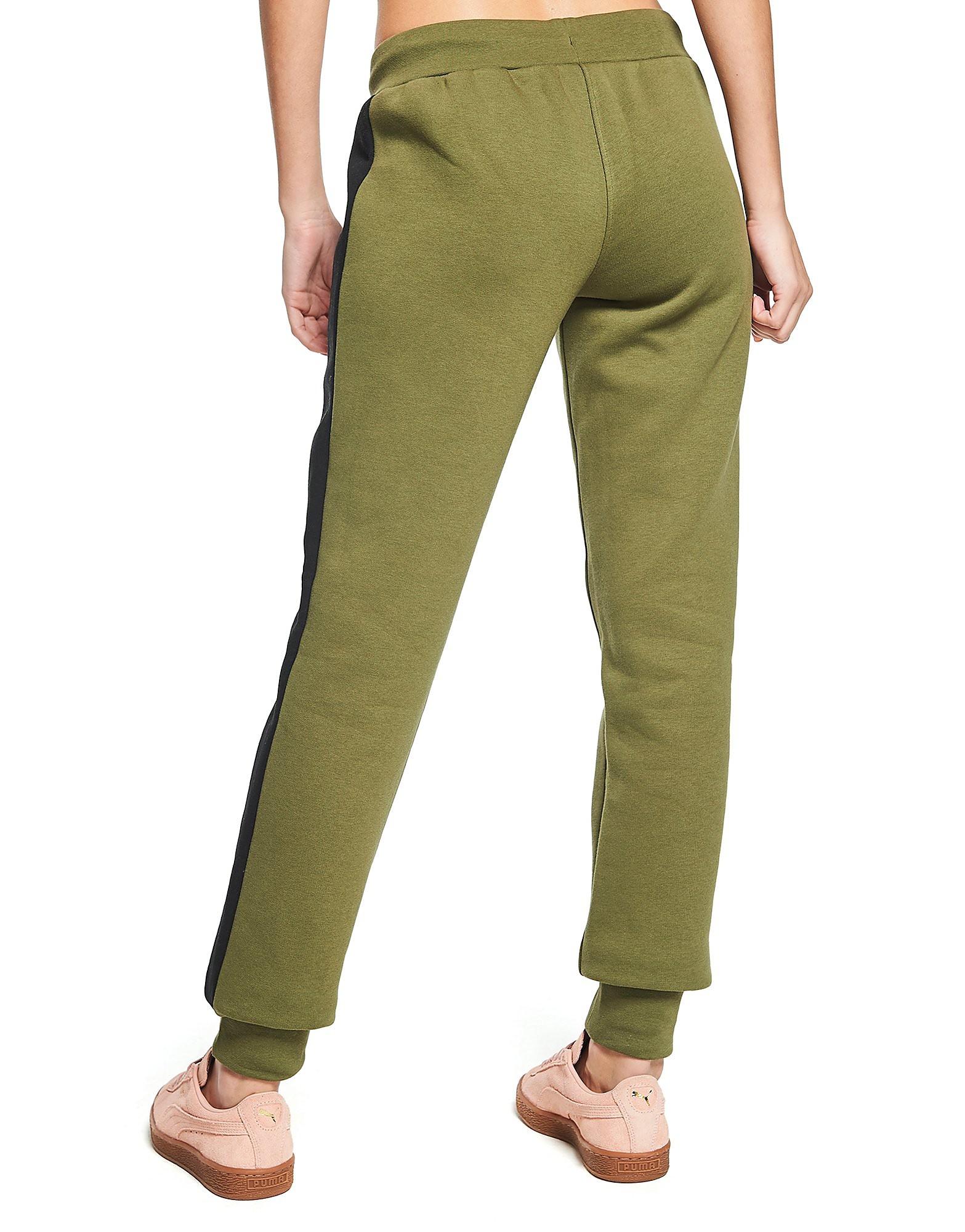 PUMA Fleece-Hose mit Seiteneinsatz