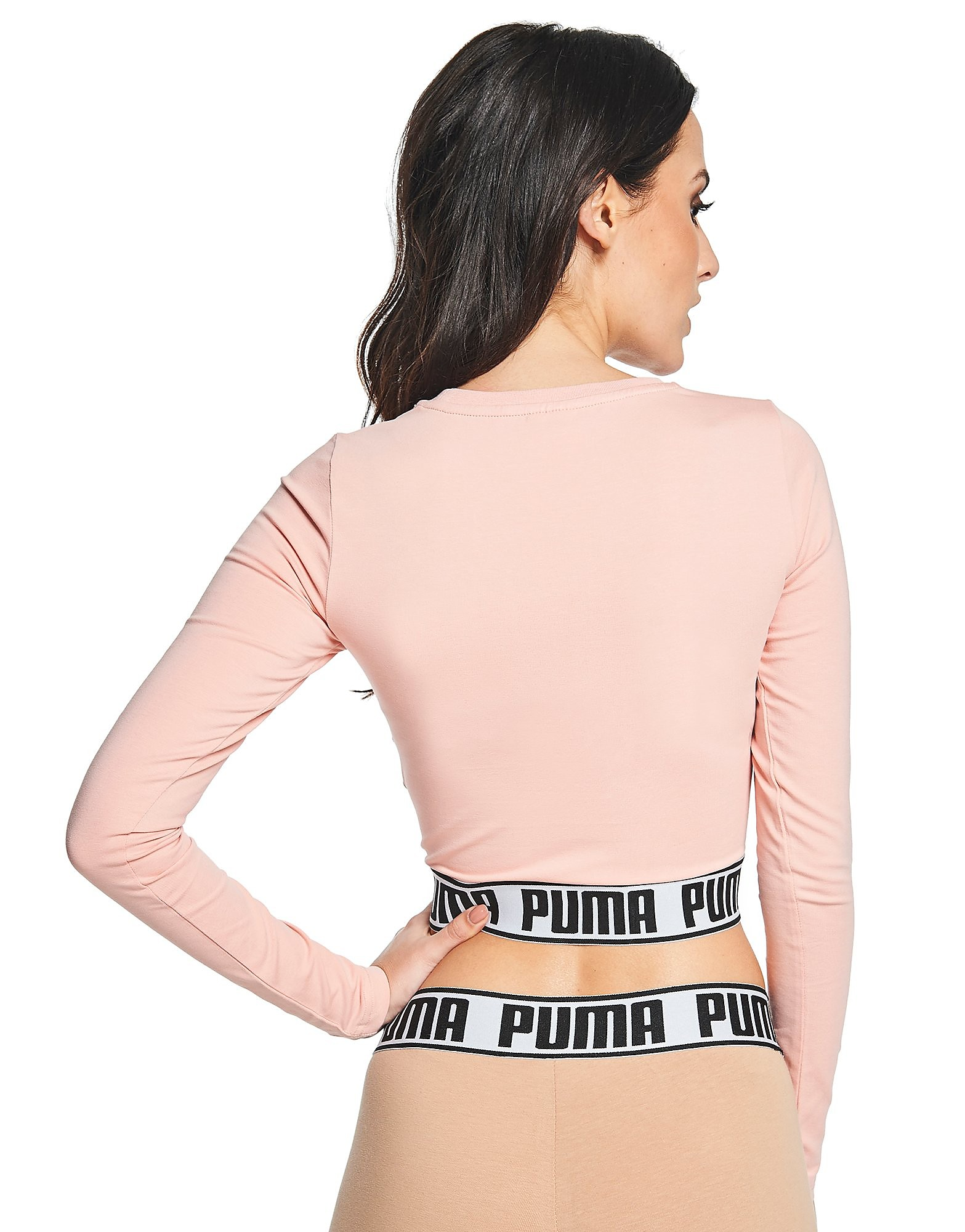 PUMA Long Sleeved Crop T-Shirt