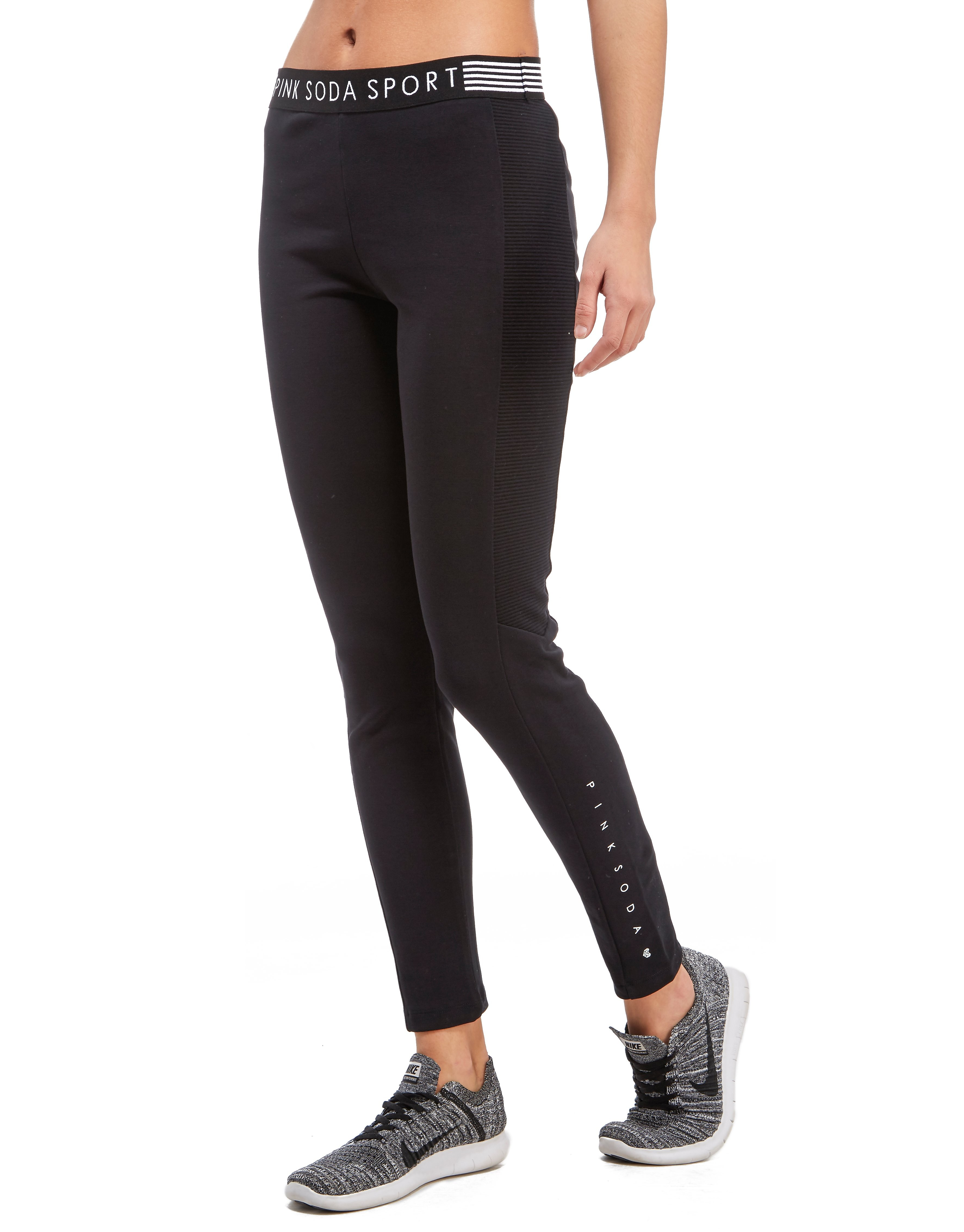 Pink Soda Sport Mesh Lifestyle Leggings