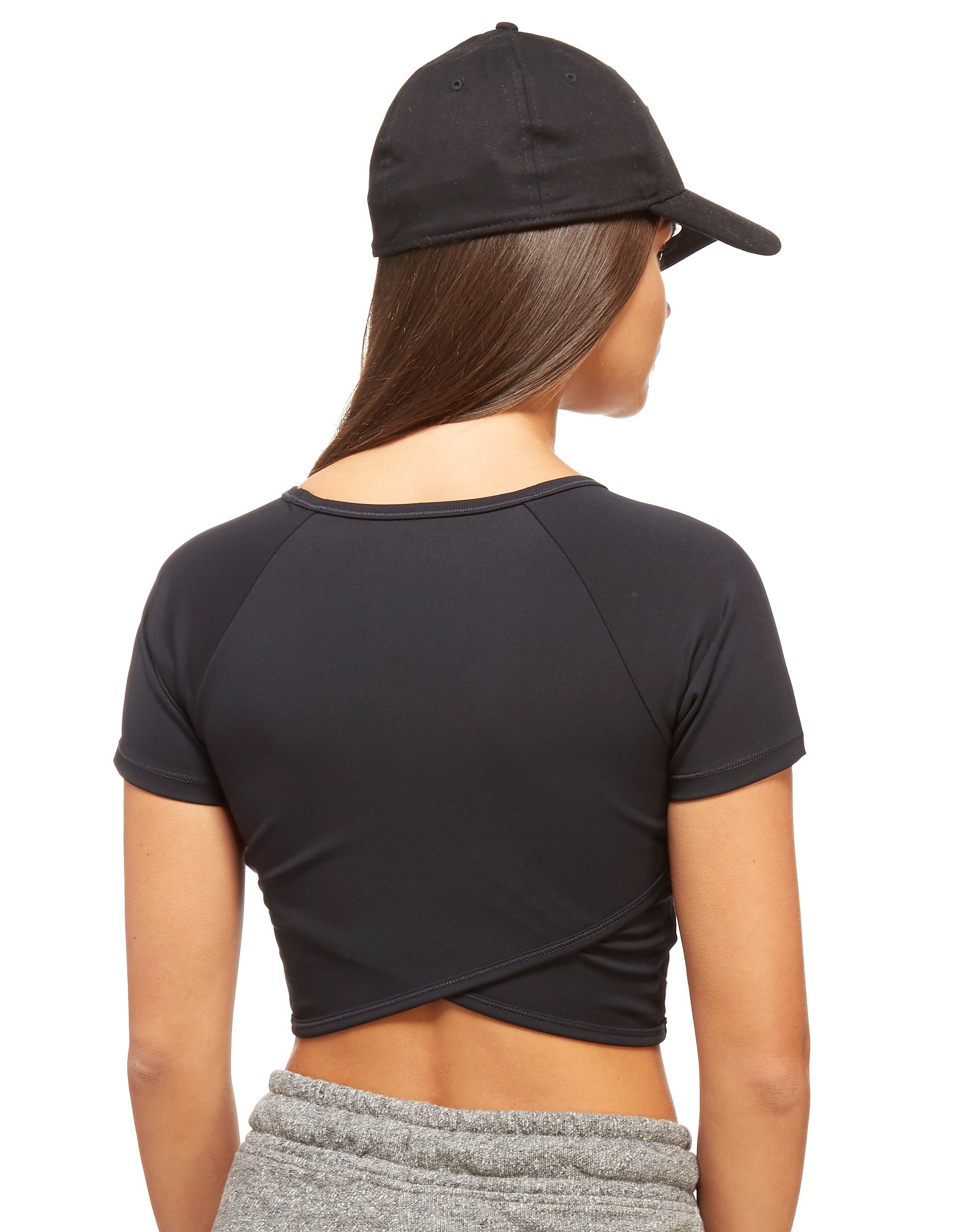 IVY PARK Wrap Back Crop Top