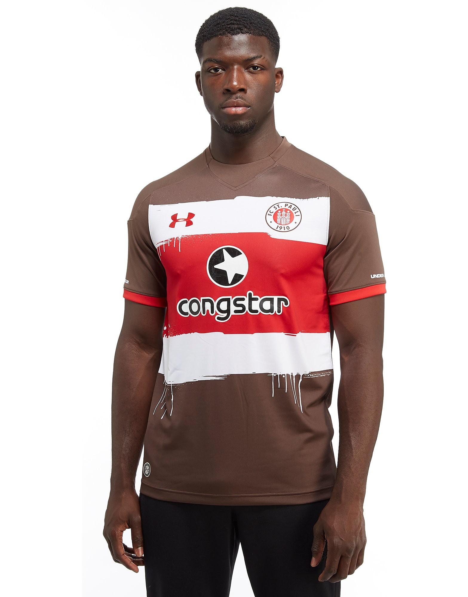 Under Armour St Pauli FC 2017/18 Home Shirt