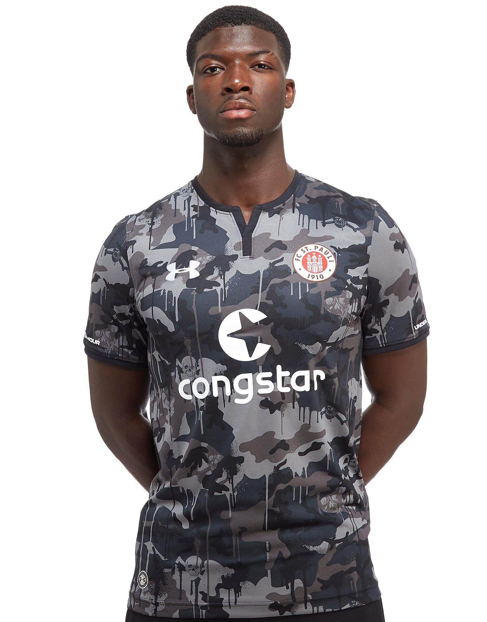 Under Armour St Pauli FC 2017/18 Third Shirt