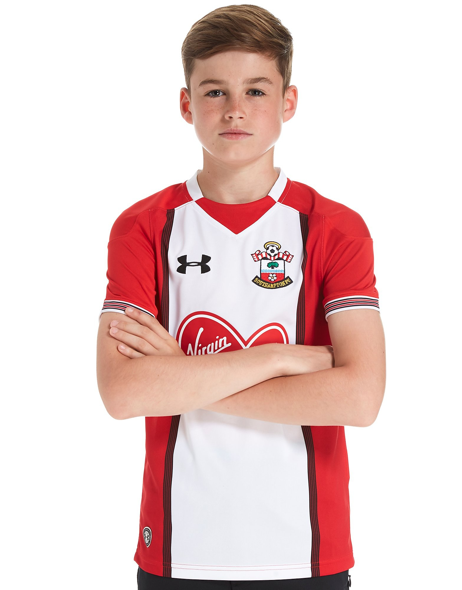 Under Armour Southampton FC 2017/18 Home Shirt Junior PRE ORDER