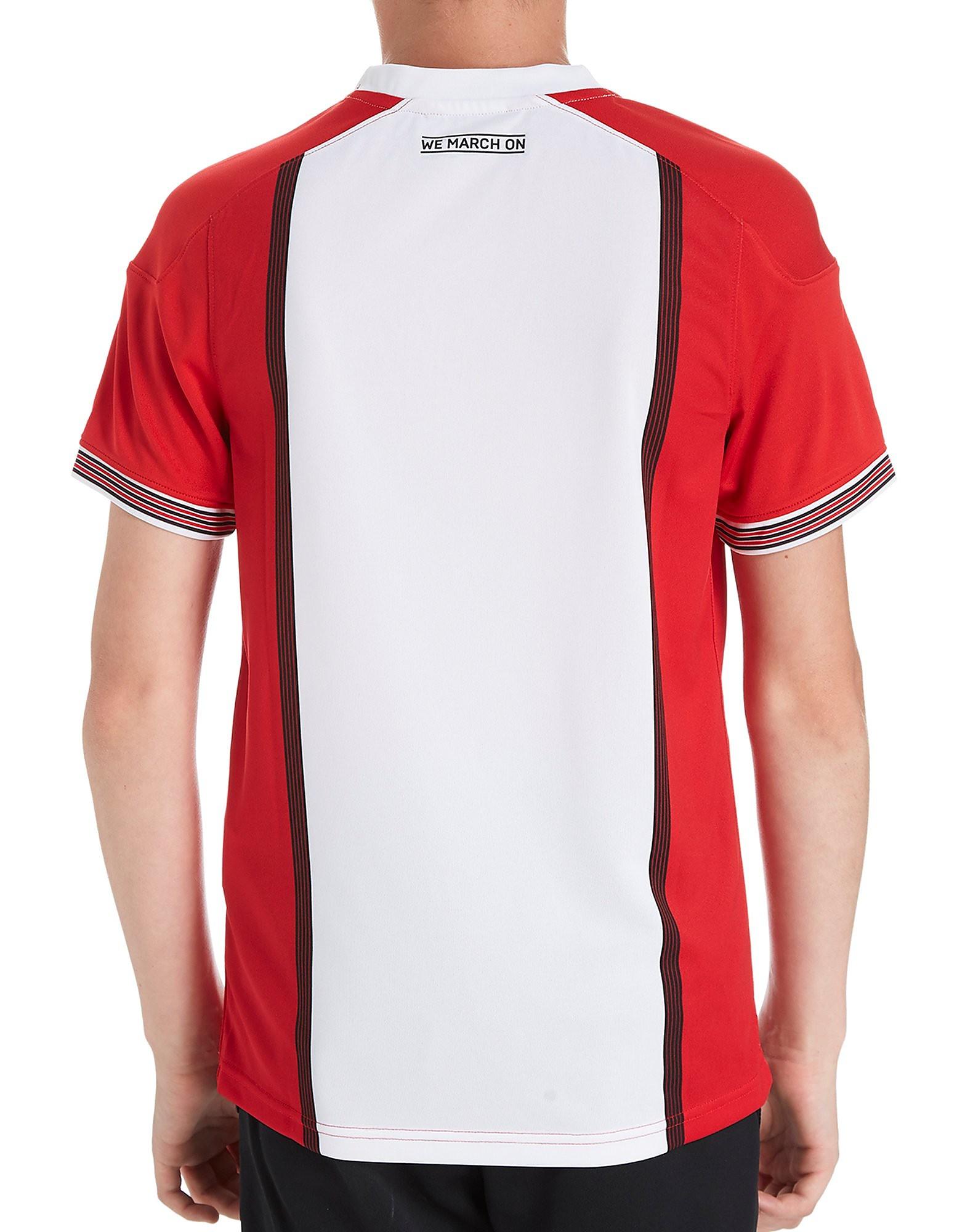 Under Armour Southampton FC 2017/18 Home Shirt Junior PRE ORDER