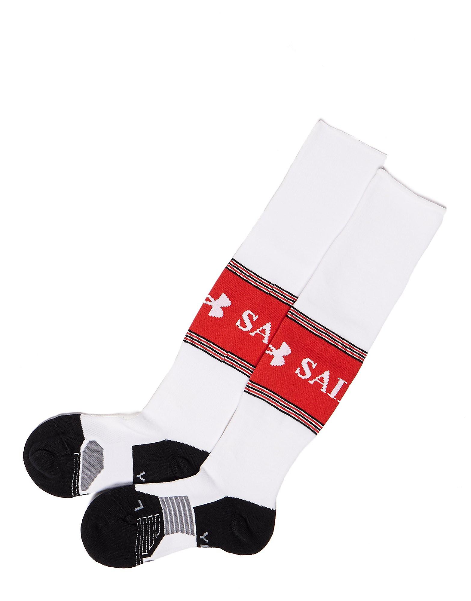 Under Armour Southampton FC 2017/18 Home Socks Junior PRE ORDER