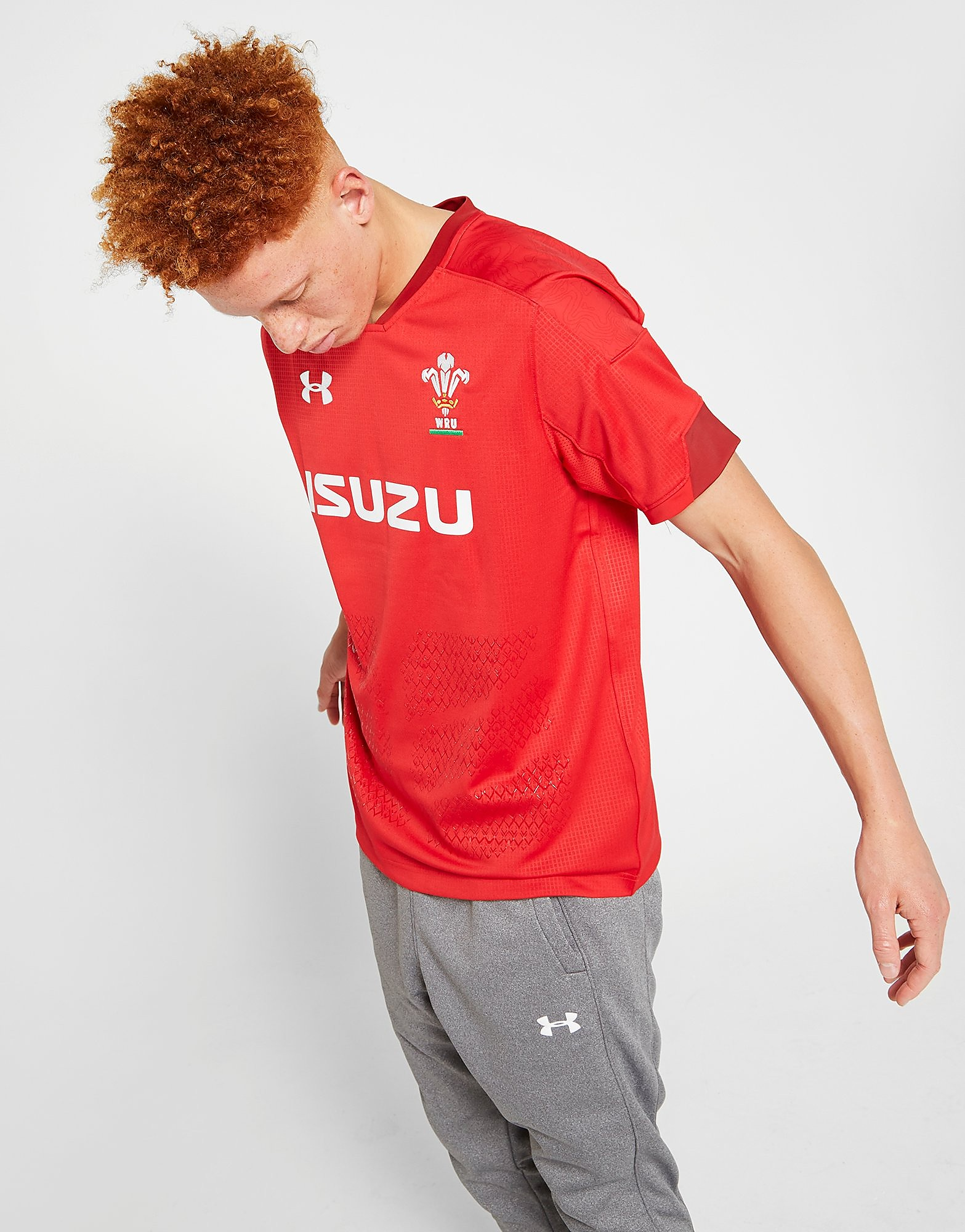 Under Armour Wales RU 2017/18 Home Shirt