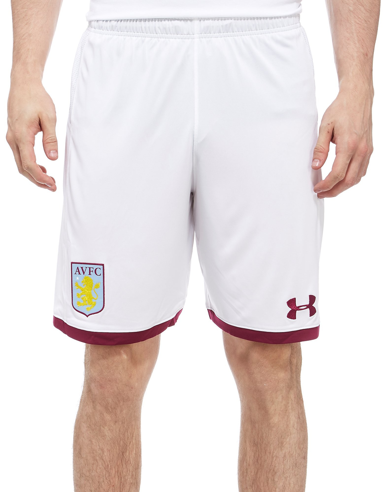 Under Armour Aston Villa 2017/18 Home Shorts Heren