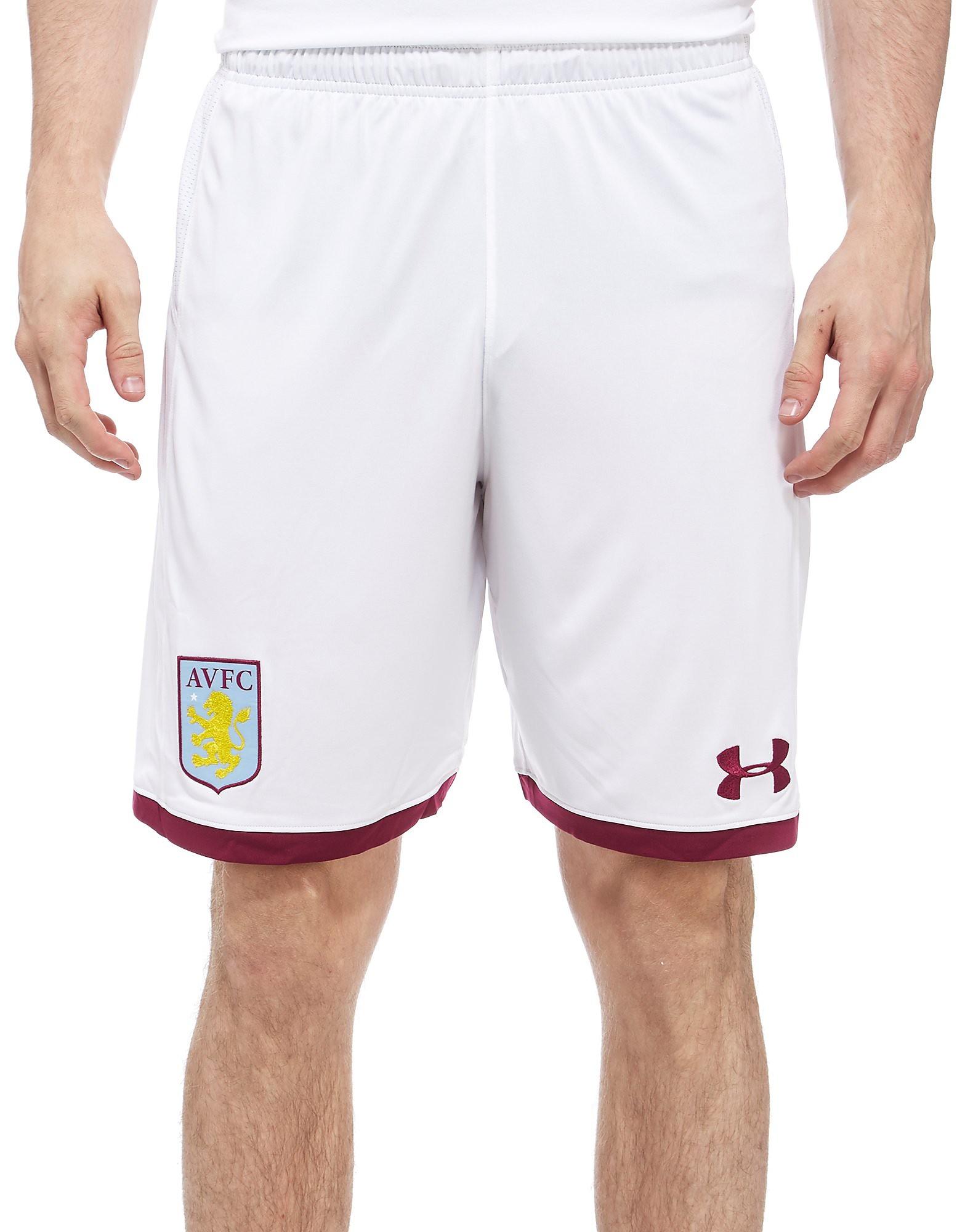 Under Armour Aston Villa 2017/18 Home Shorts