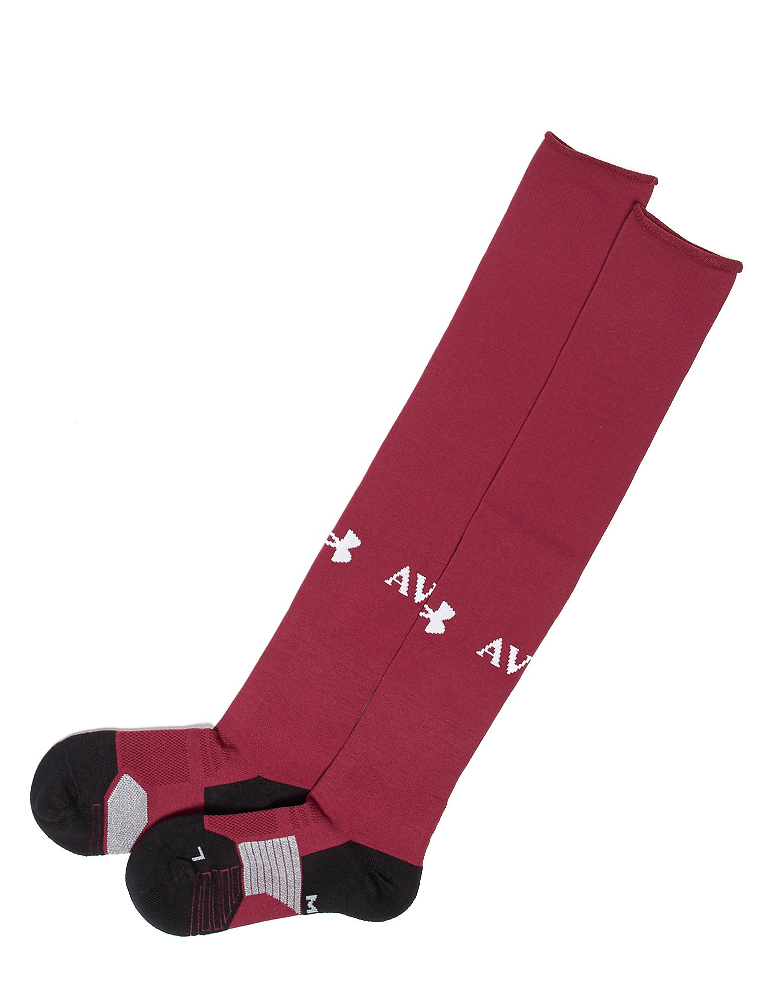 Under Armour Aston Villa 2017/18 Home Socks