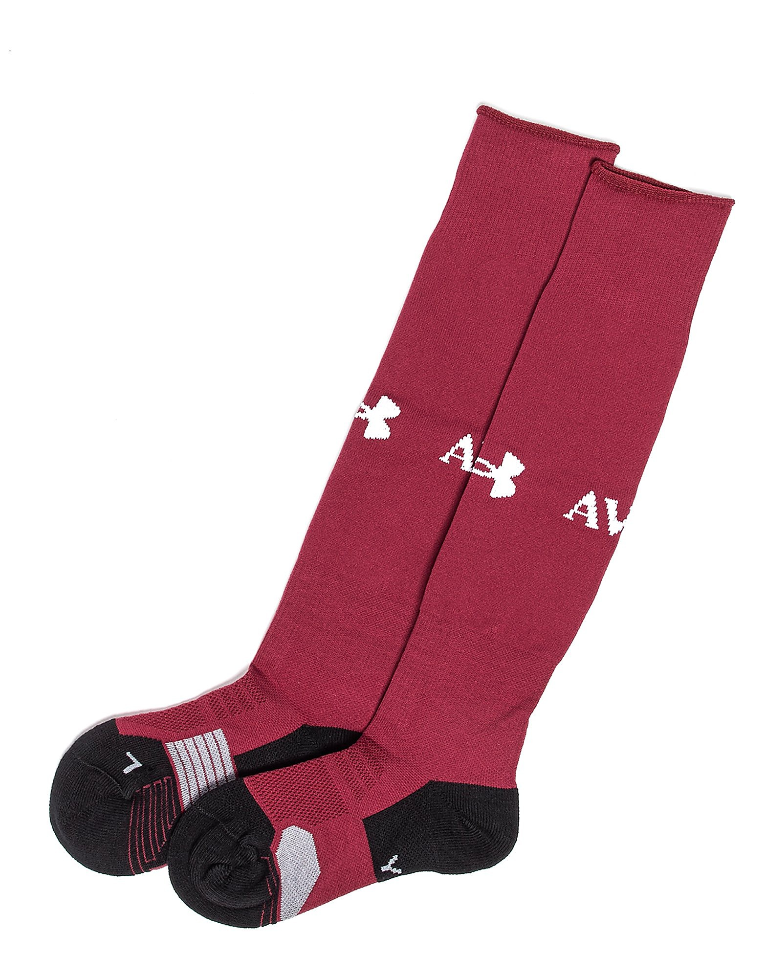 Under Armour Aston Villa FC Home Socks 2017/2018 Junior