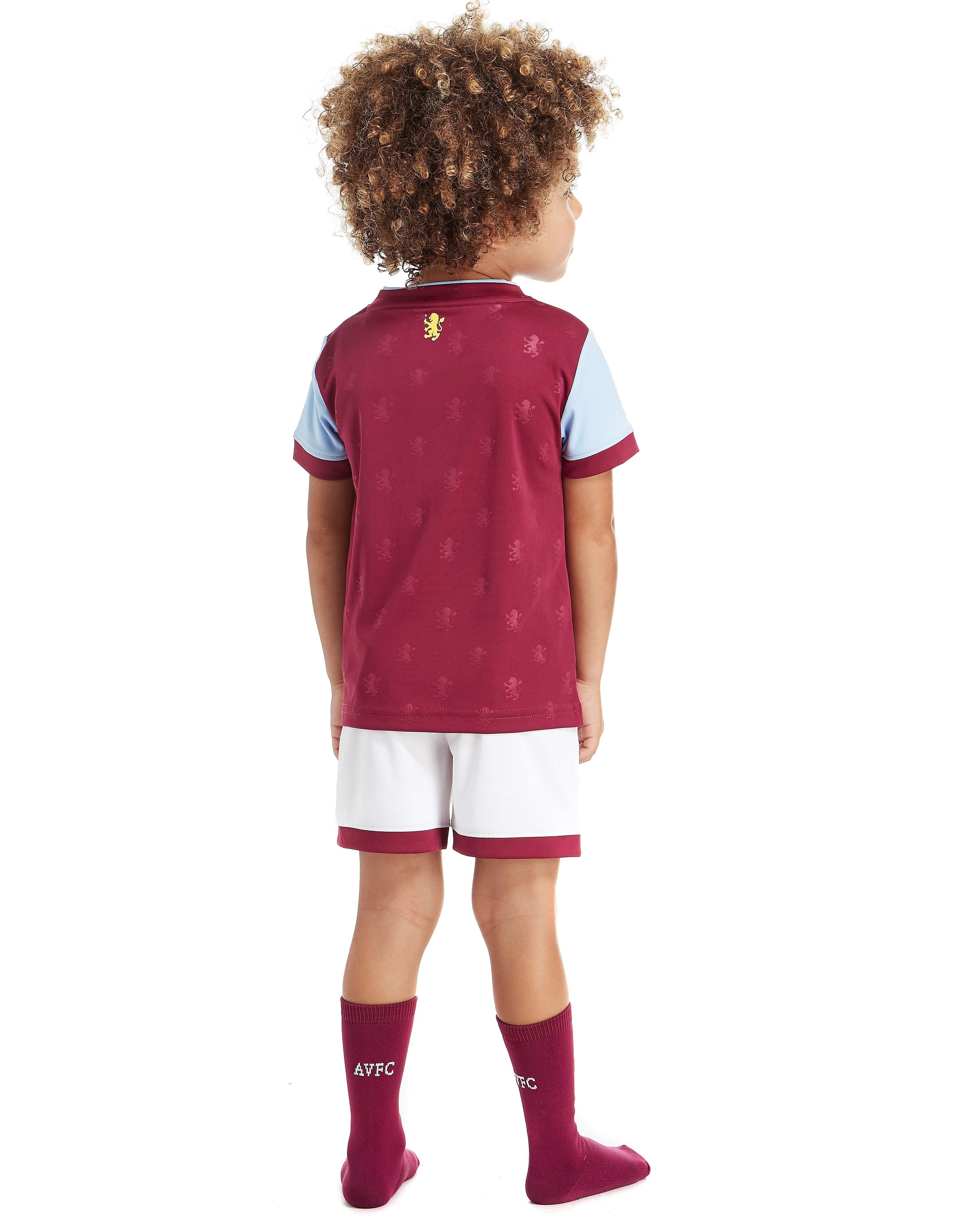 Under Armour Aston Villa 2017/18 Home Ensemble Enfant