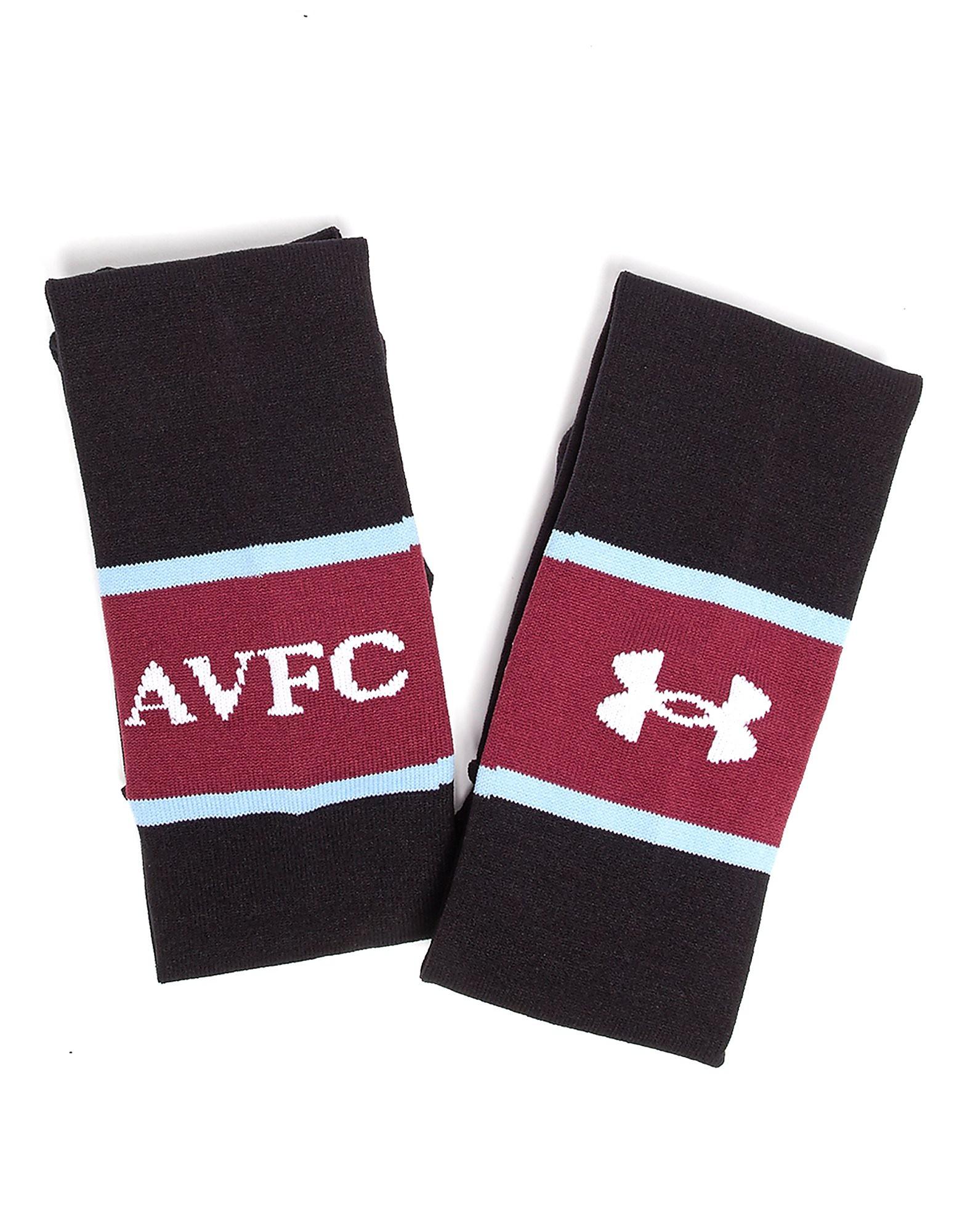 Under Armour Aston Villa 2017/18 Away Chaussettes
