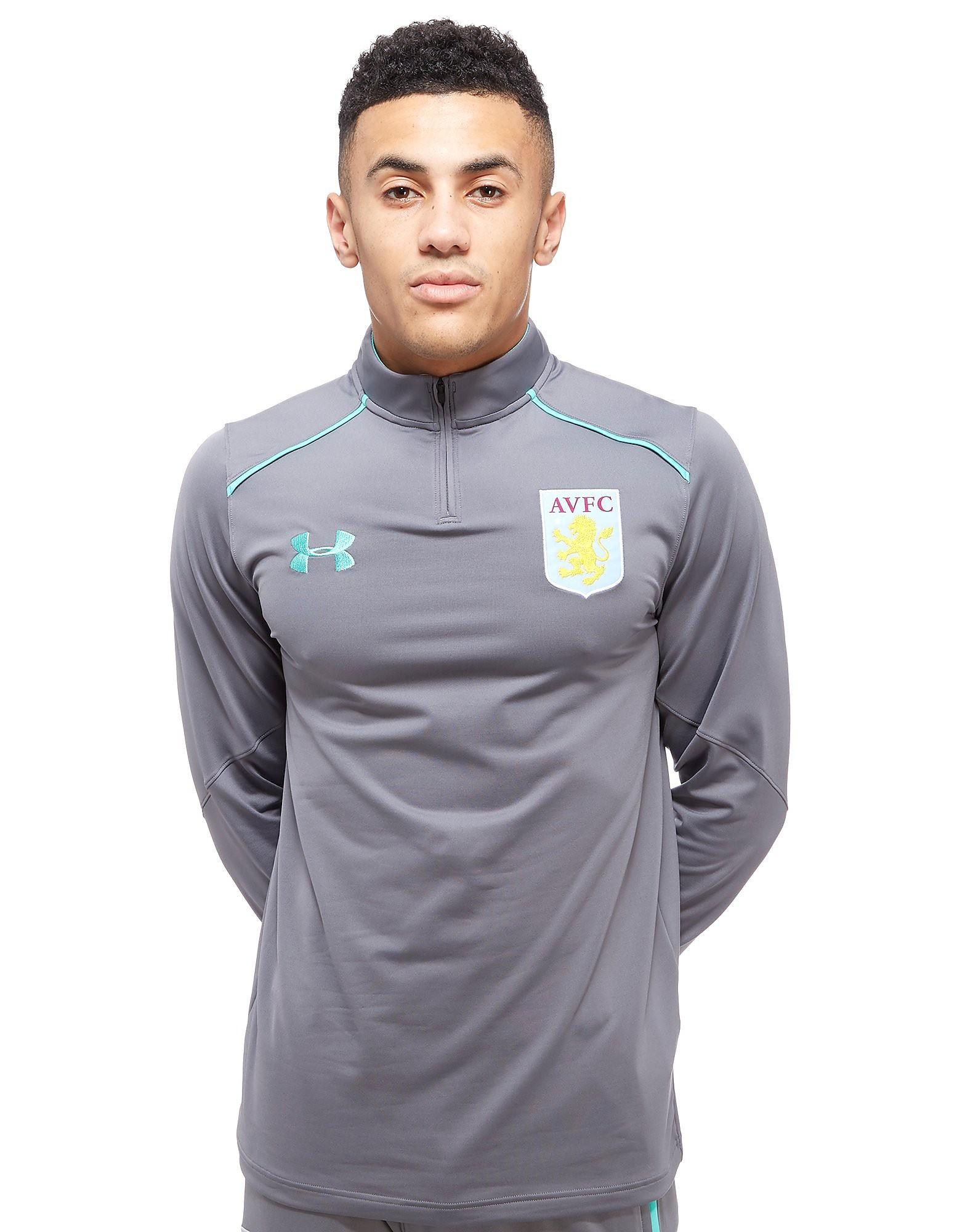 Under Armour Aston Villa 2017 Quarter Zip Top