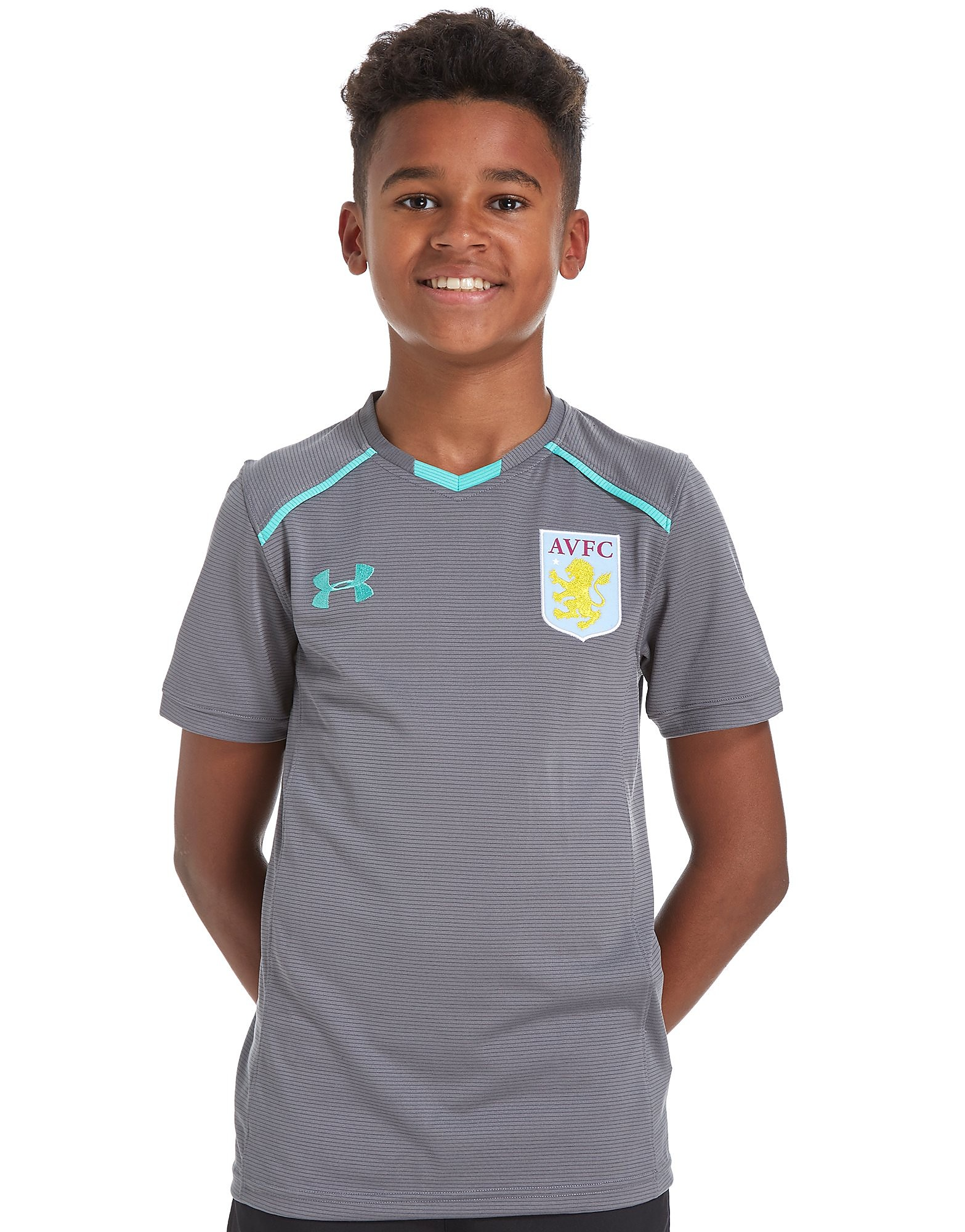 Under Armour Aston Villa 2017/18 Training T-Shirt Children