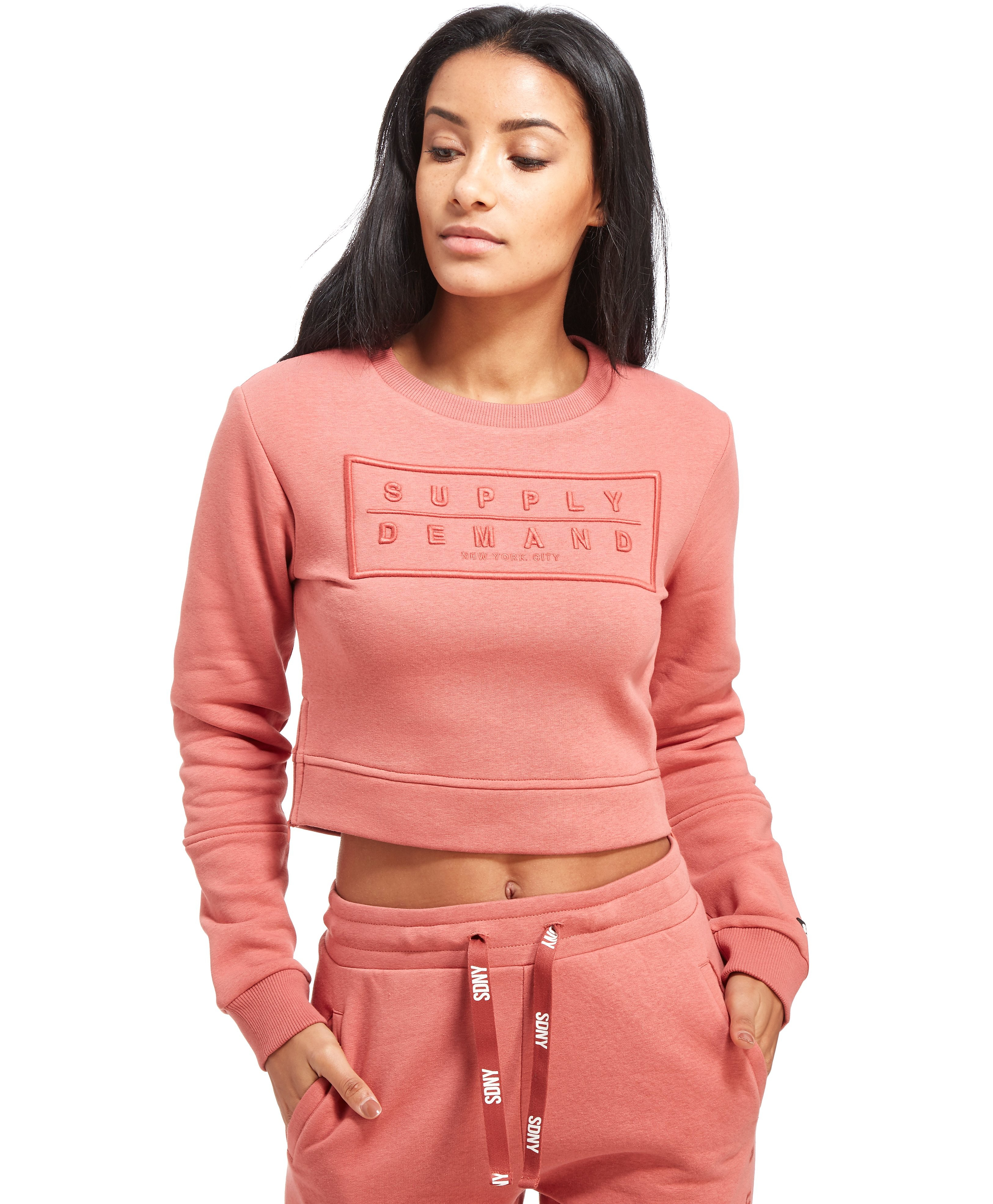 Supply & Demand Boxy Crew Sweatshirt