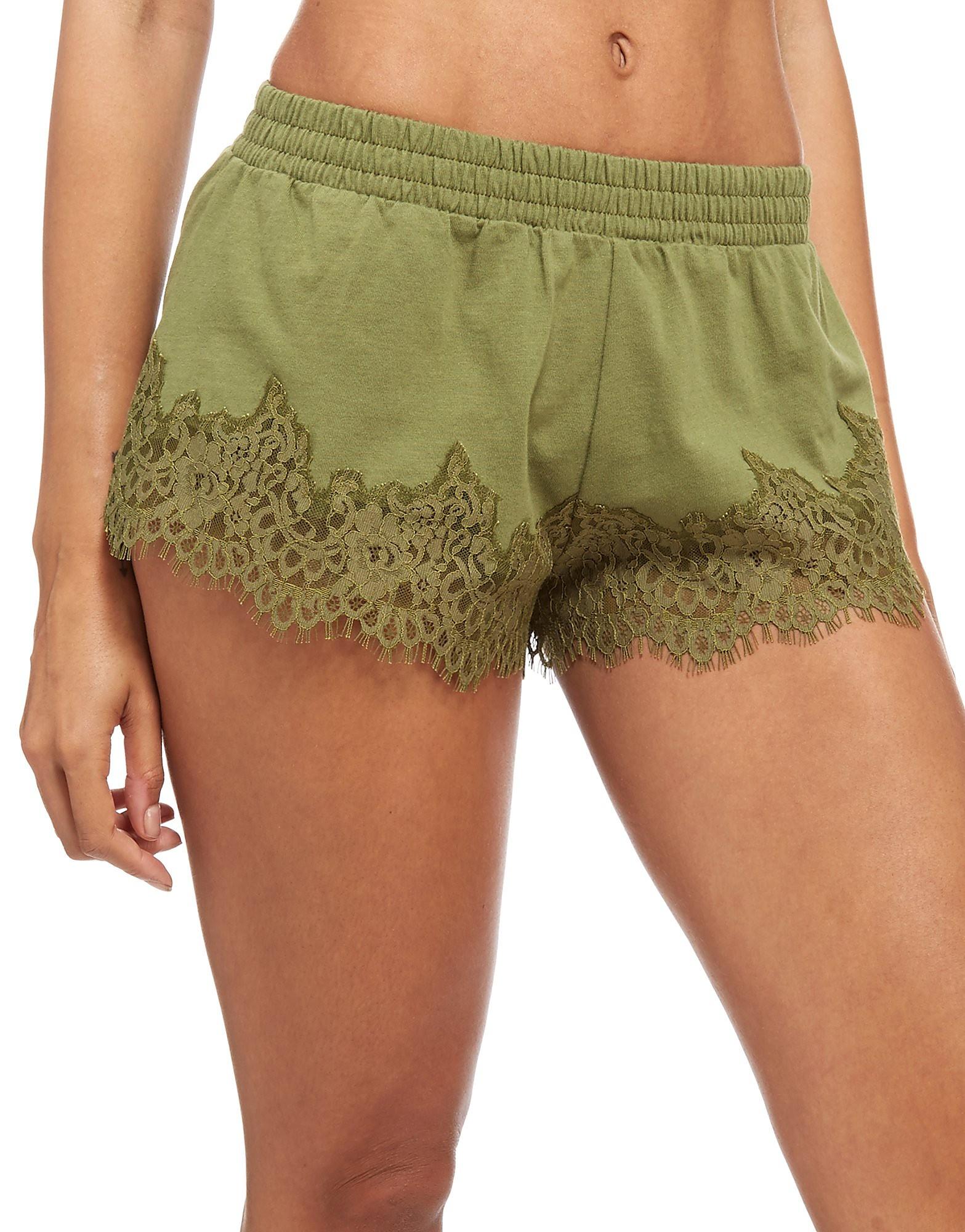 PUMA x Fenty Shorts Dames - Olive - Dames