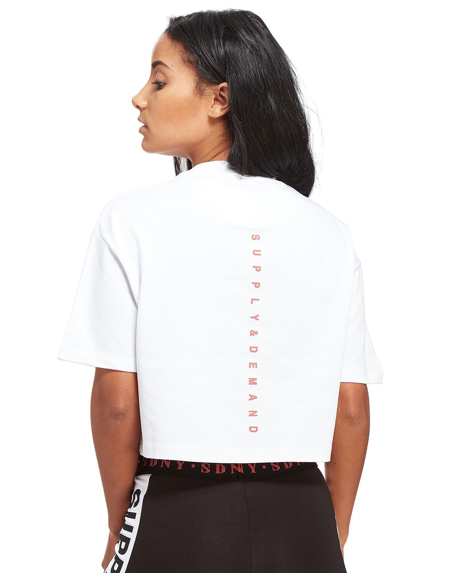 Supply & Demand Boxy Badge T-Shirt