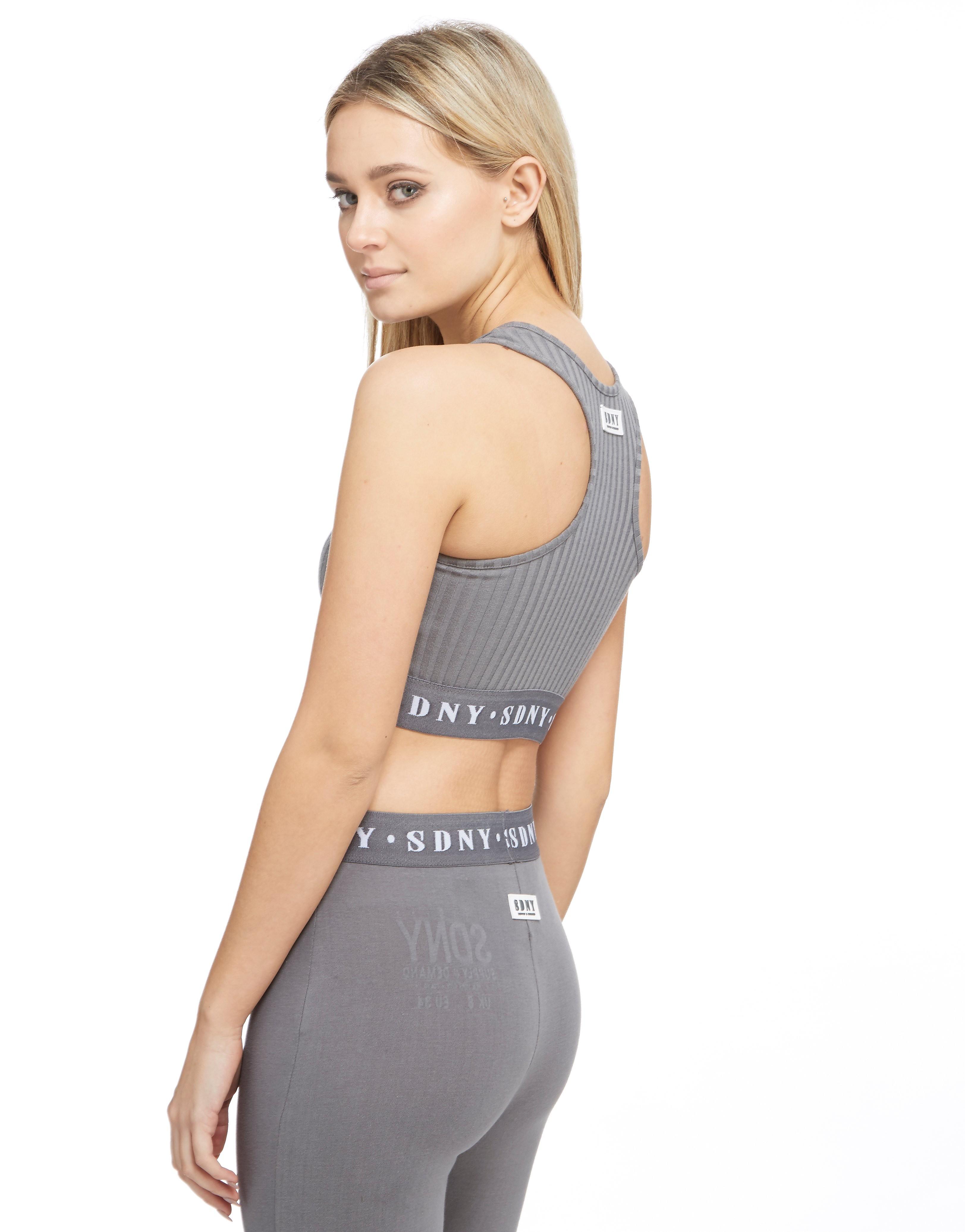 Supply & Demand Rib Zip Crop Vest