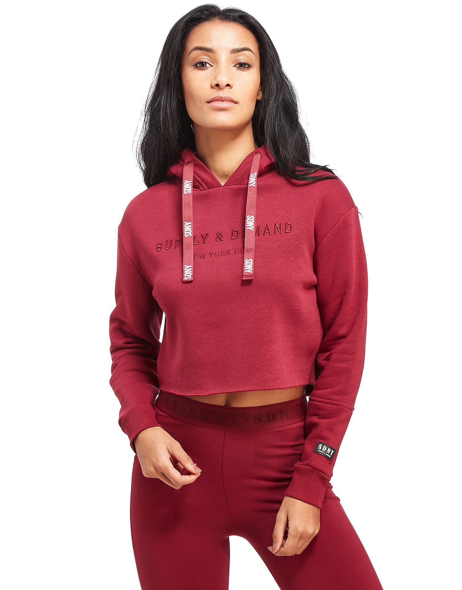 Supply & Demand Crop Hoody Femme
