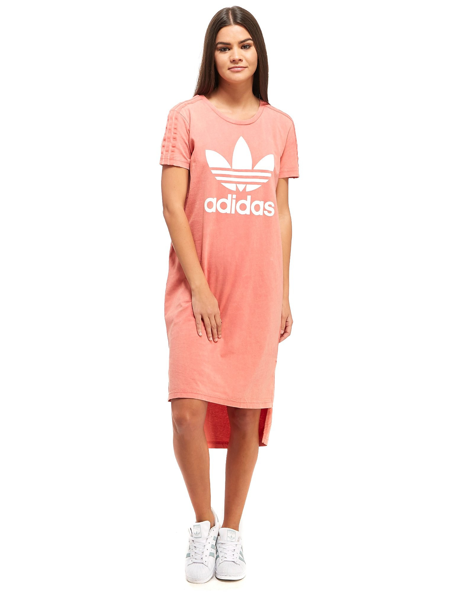 adidas Originals Ocean Elements Washed T-Shirt Dress