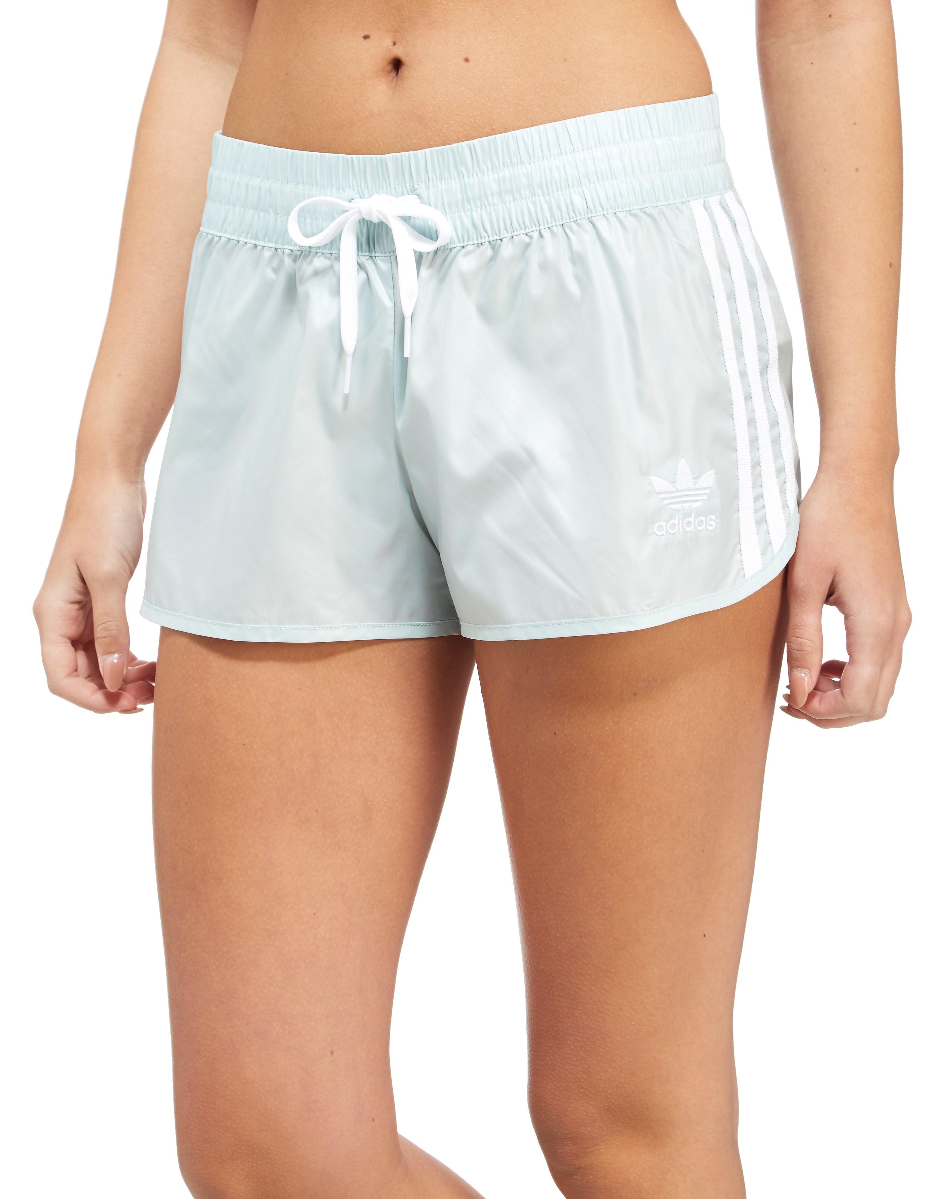 adidas Originals 3-Stripe Poly Shorts