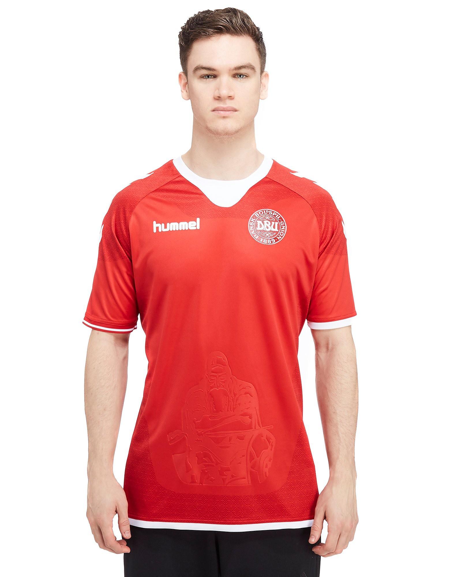 Hummel Denmark 2016/17 Home Shirt