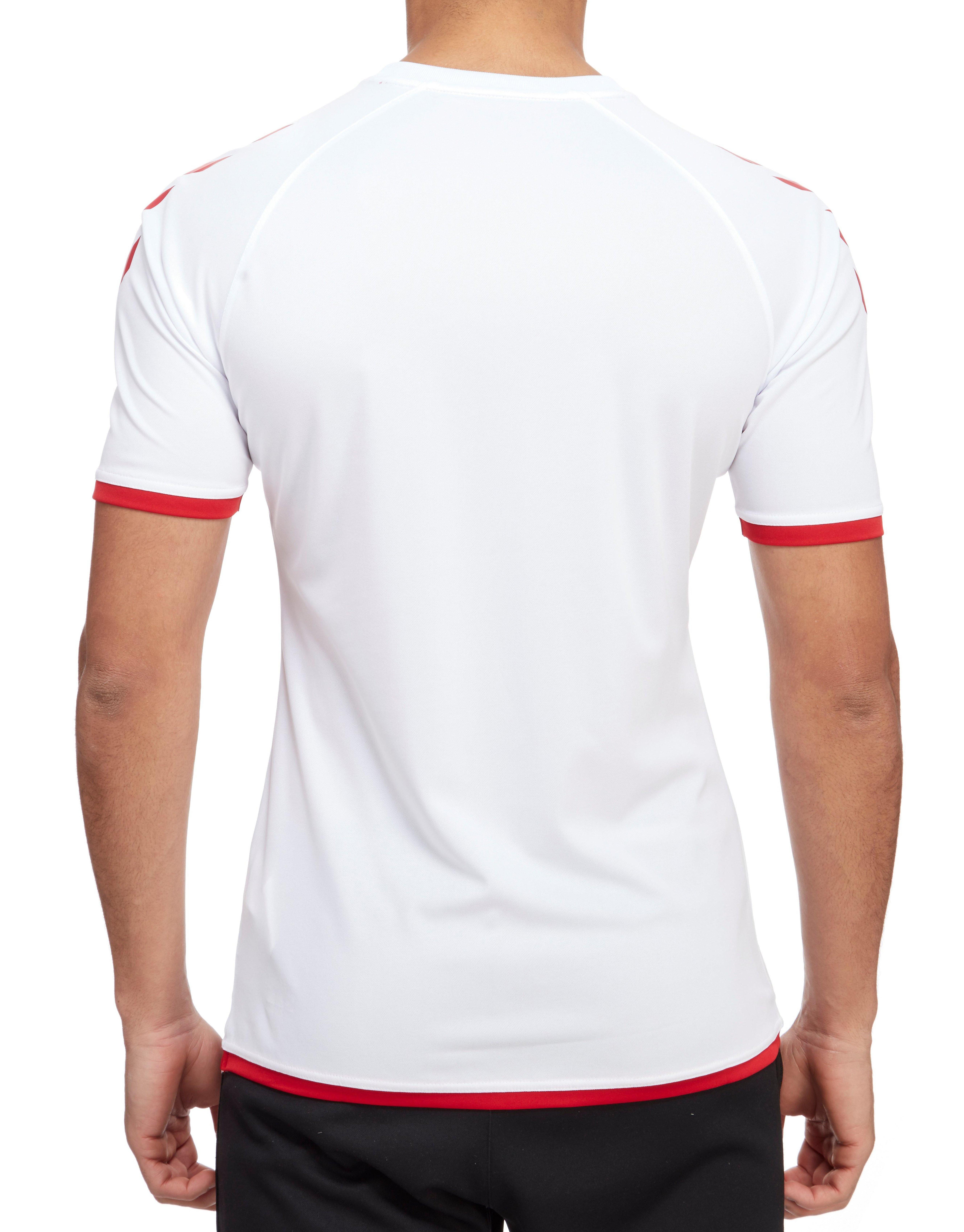 Hummel Denmark Away 2016/17 Shirt