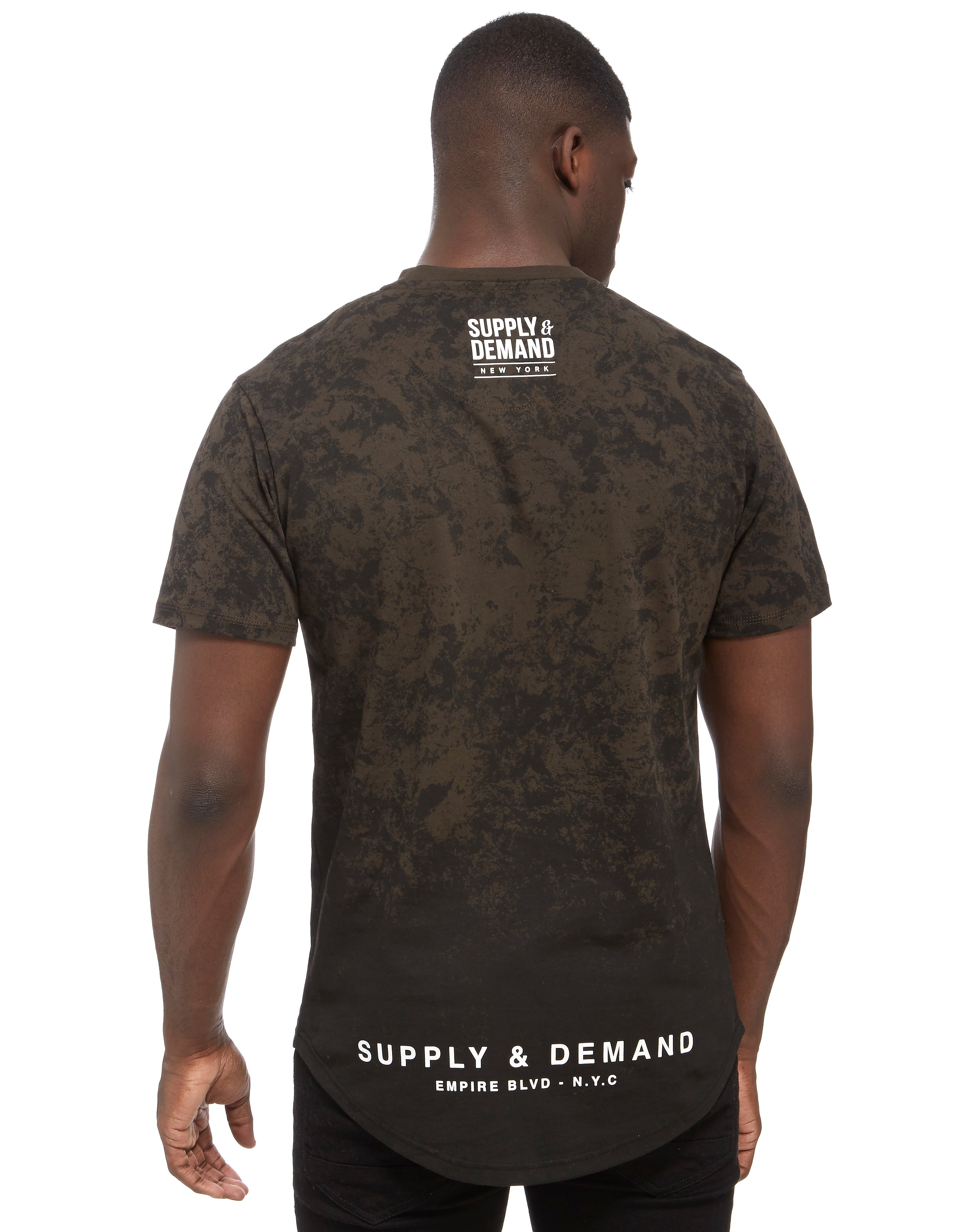Supply & Demand Grunge T-Shirt Homme