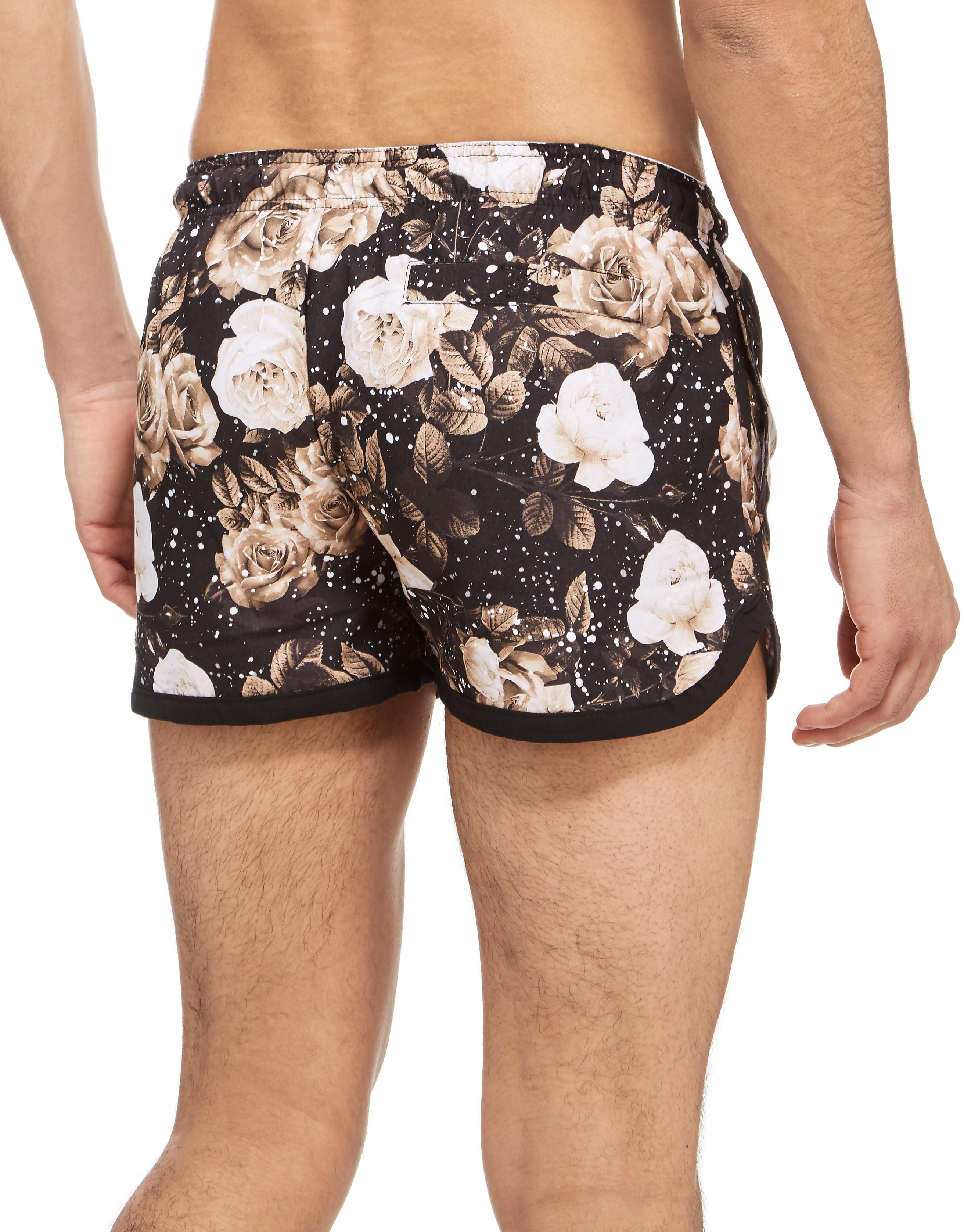 Supply & Demand Sepia Rose Swim Shorts