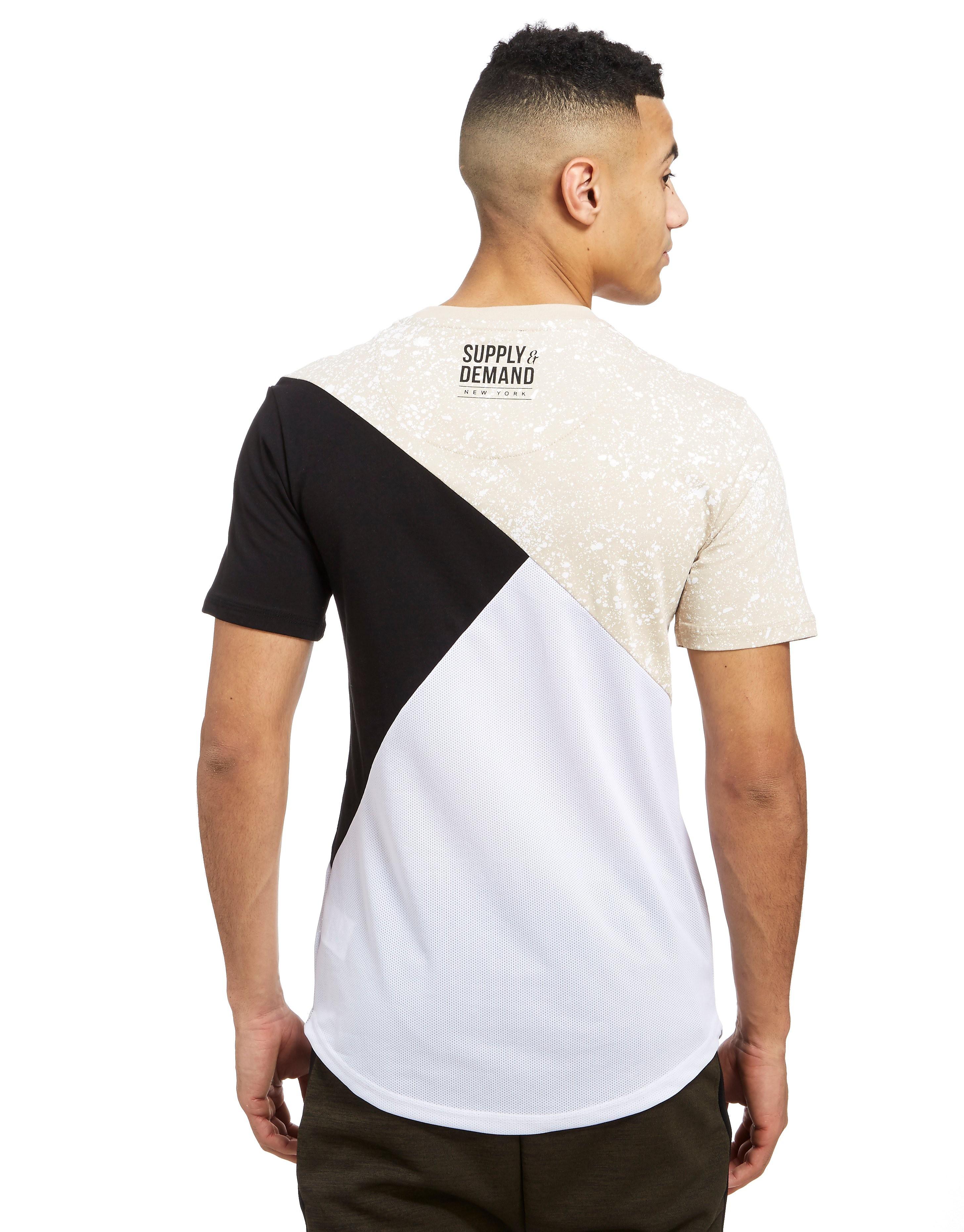 Supply & Demand Zipped Sand T-Shirt