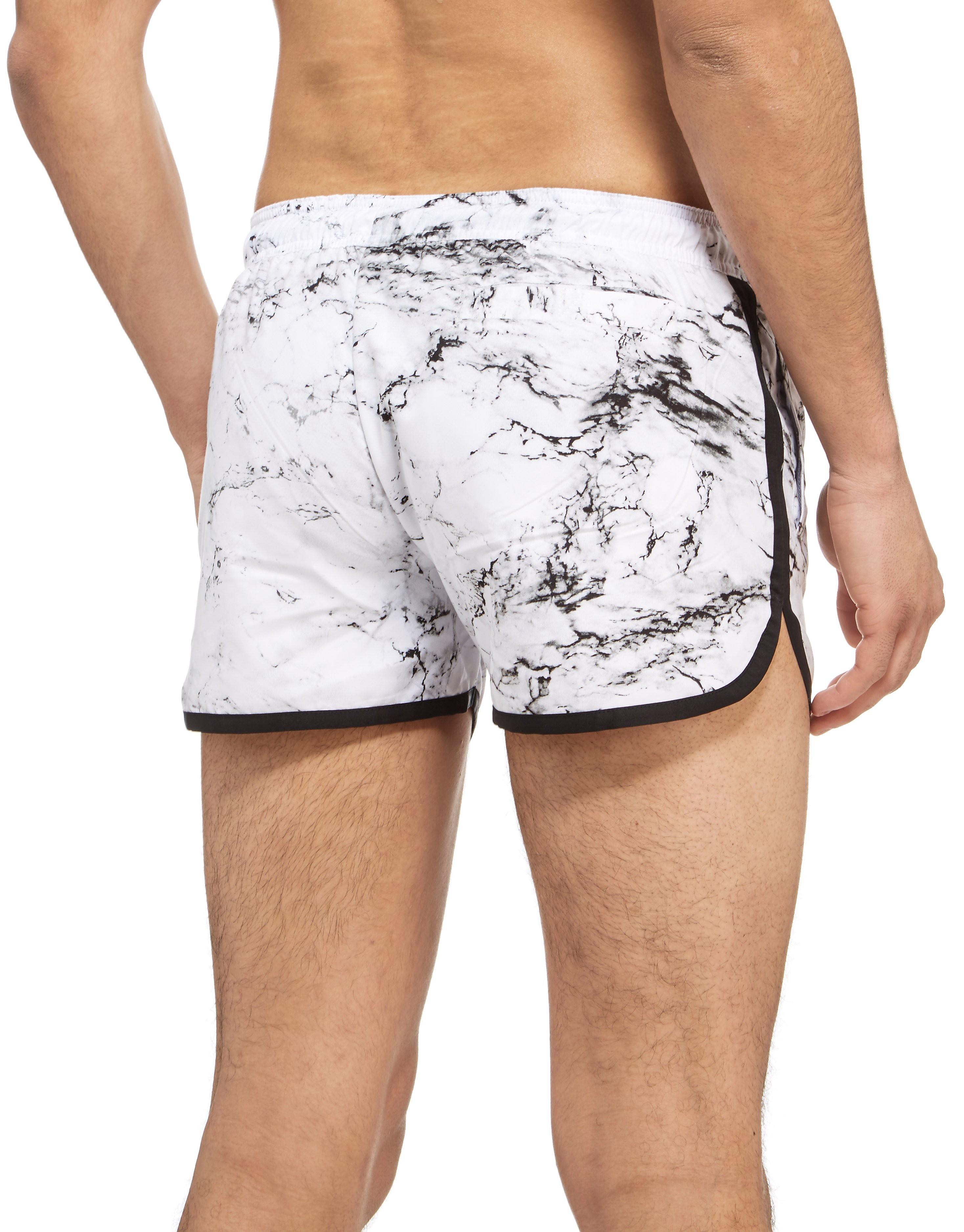 Supply & Demand Marble Panel Swim Shorts