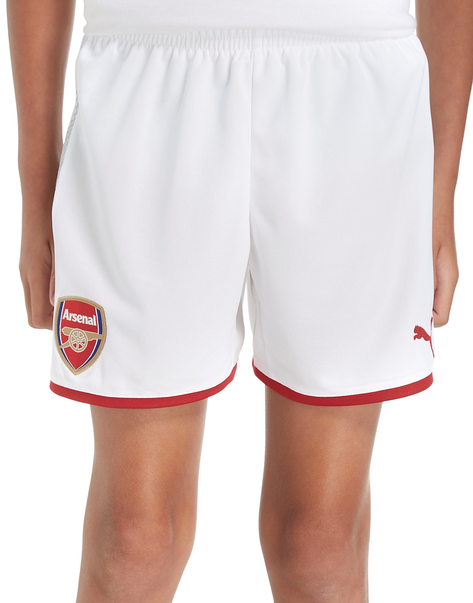 PUMA Arsenal FC 2017/18 Home Shorts Junior