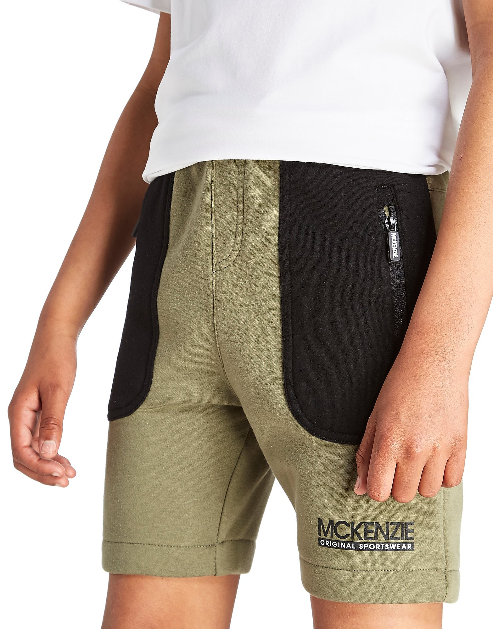 McKenzie Number Fleece Shorts Junior
