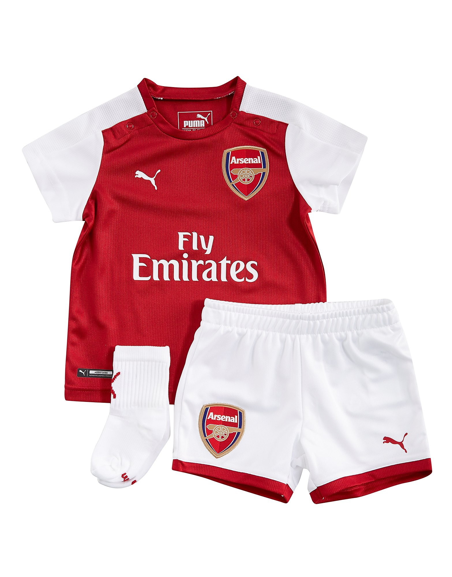 PUMA Arsenal FC 2017/18 Home Kit Infant