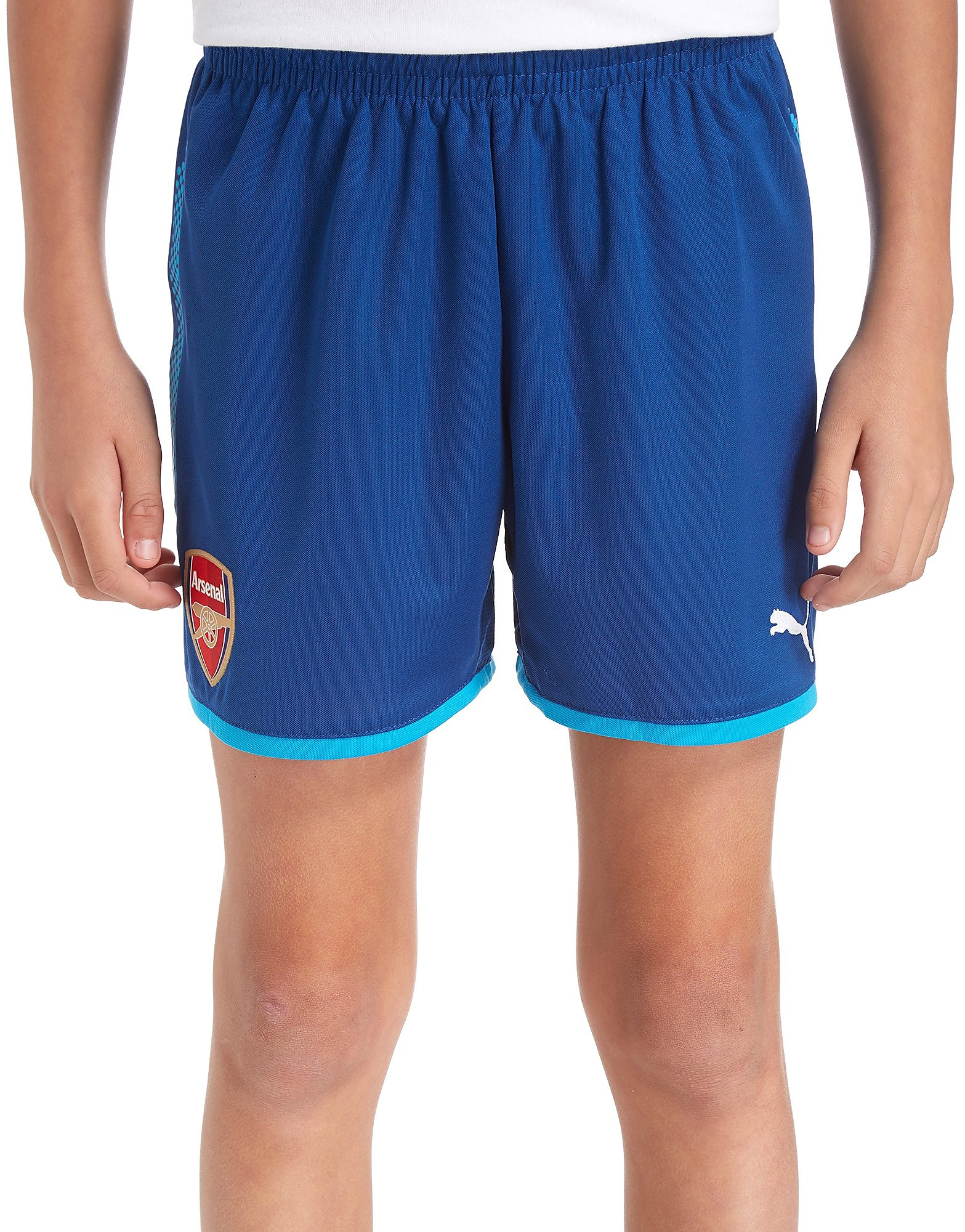 PUMA Arsenal FC 2017/18 Away Shorts Junior